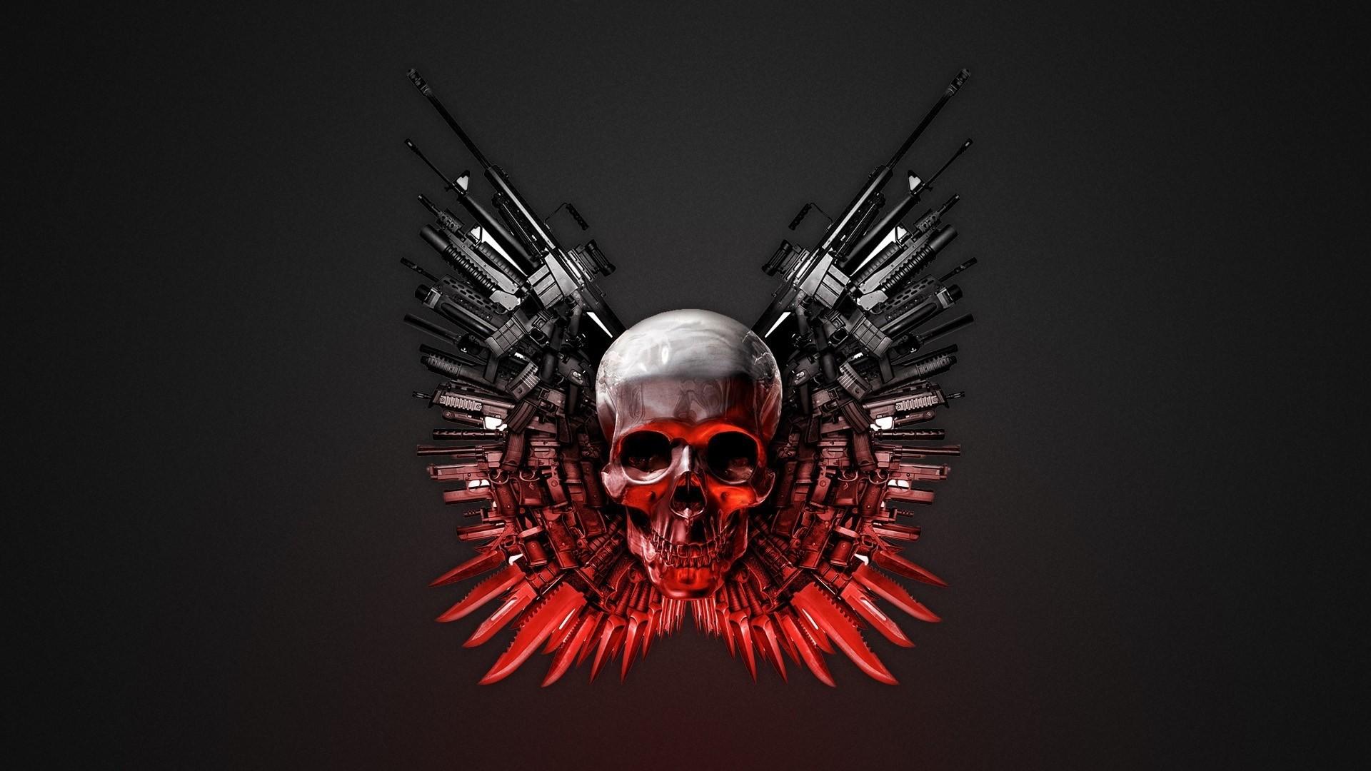 skull hd wallpaper (Bruce Walter 1920 x 1080) | ololoshenka | Pinterest |  Hd wallpaper