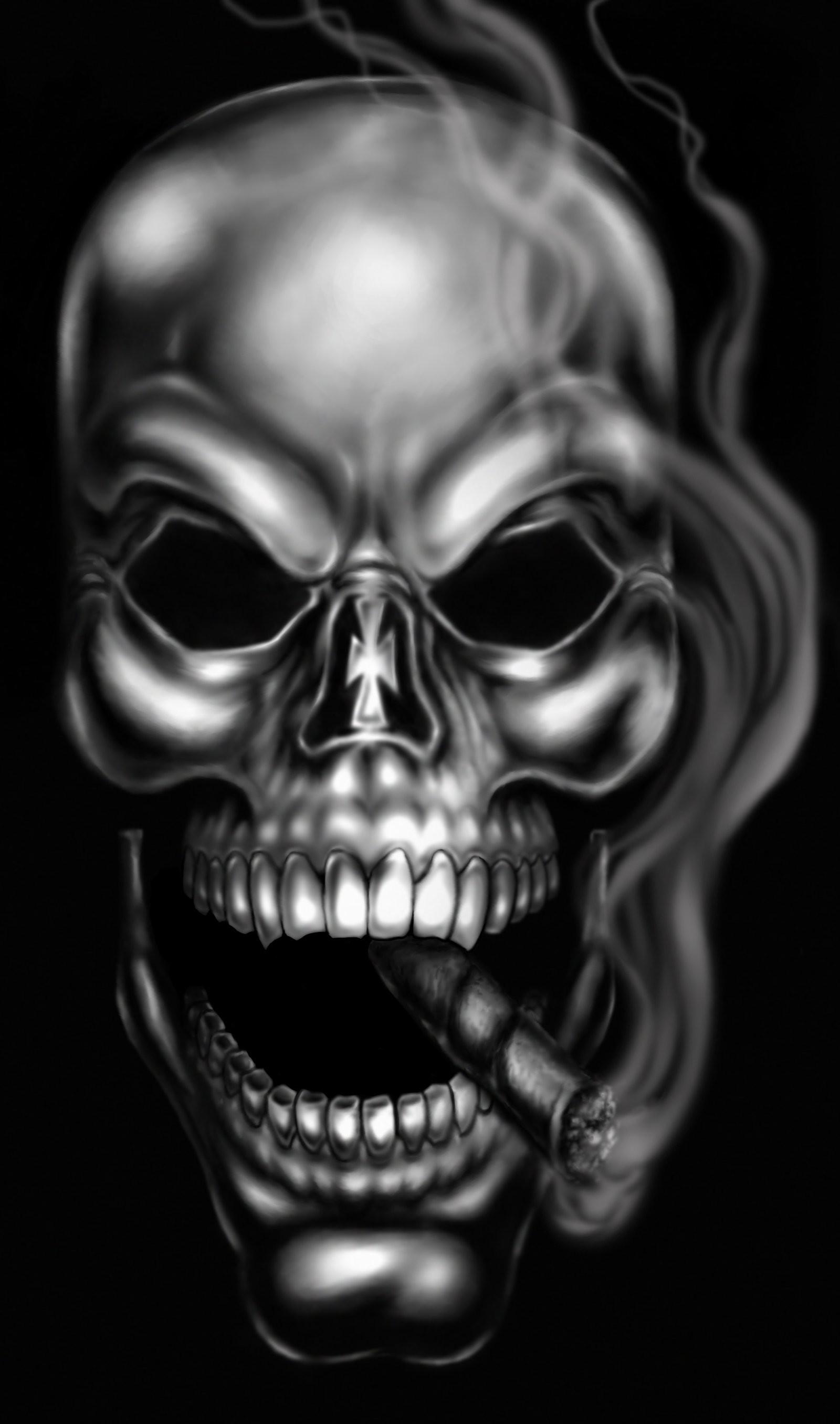Fumeurs crâne Artistic Images