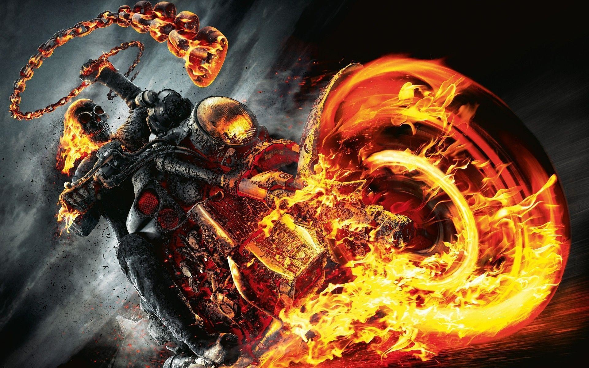 Most Downloaded Fire Skull Wallpapers – Full HD wallpaper search