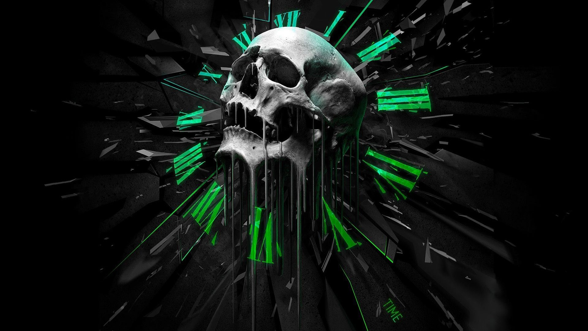 3D Art Skull 4k ultra hd backgrounds wallpaper – HD Wallpapers