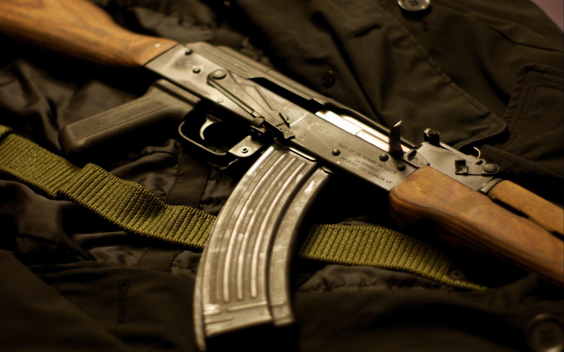 Rifle Assault Rifle AK-47 Macro weapons guns wallpaper