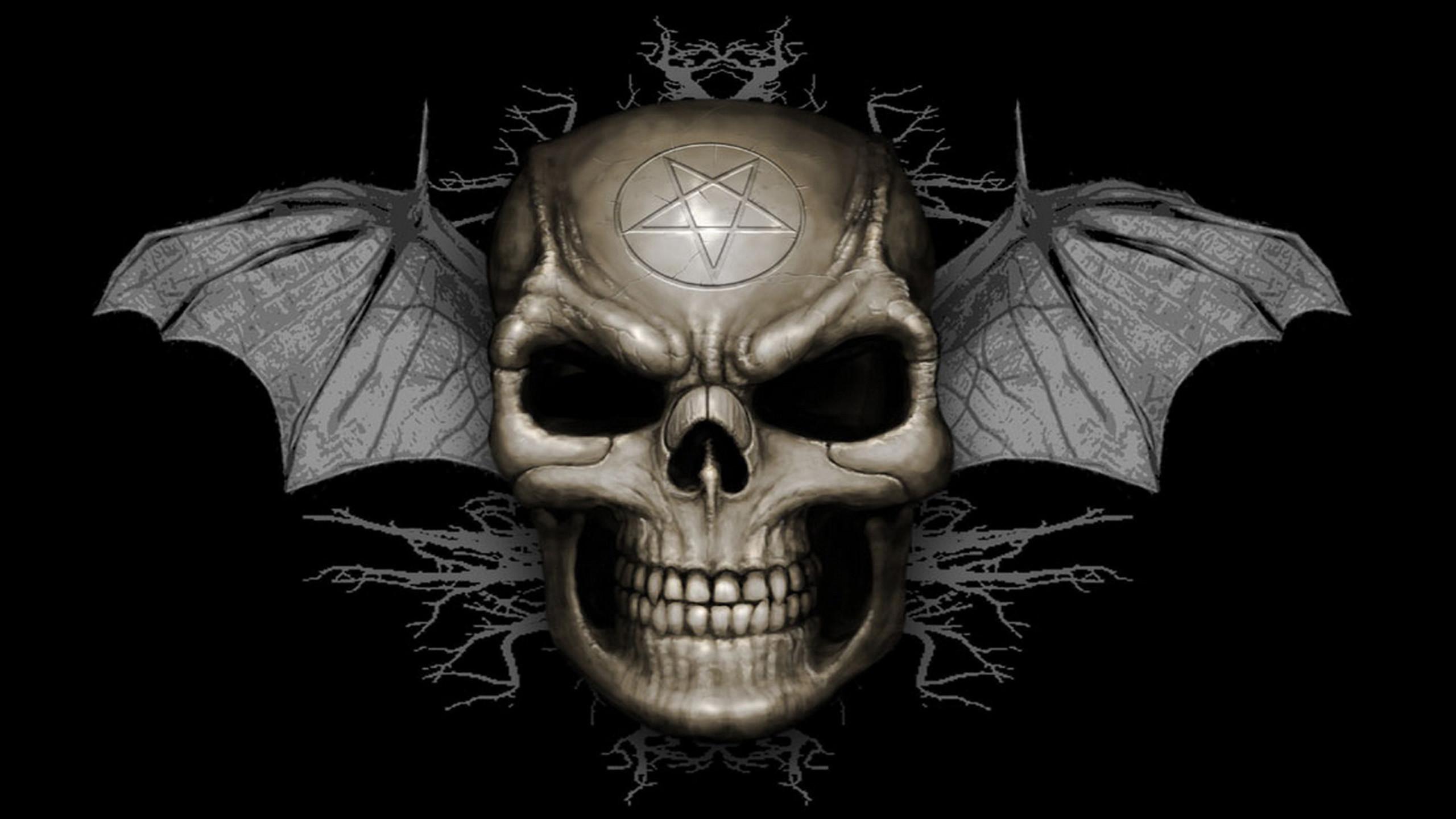 Evil skull bat wallpapers, HD Desktop Wallpapers
