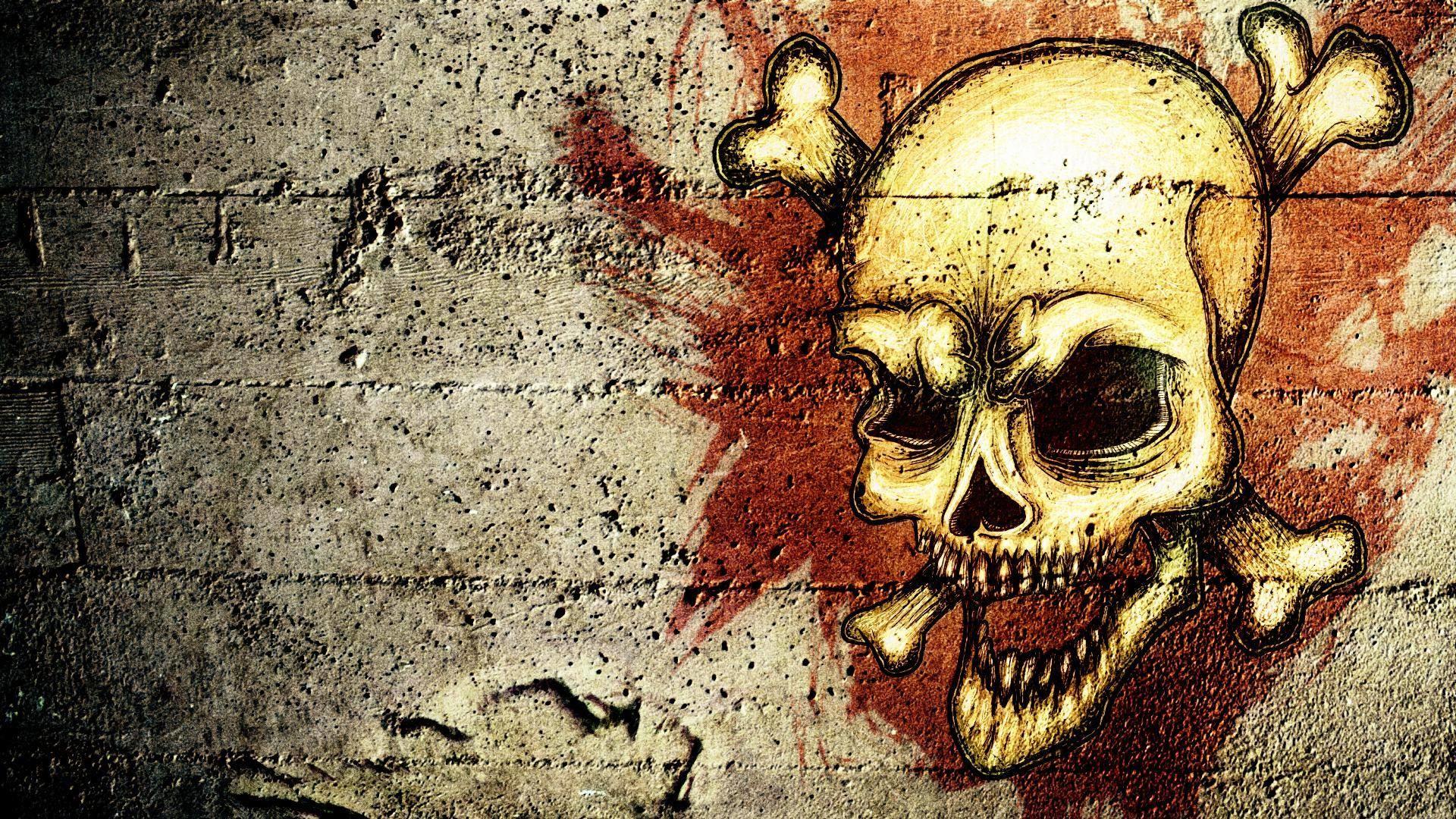 Images For > Skull Wallpaper Hd Download