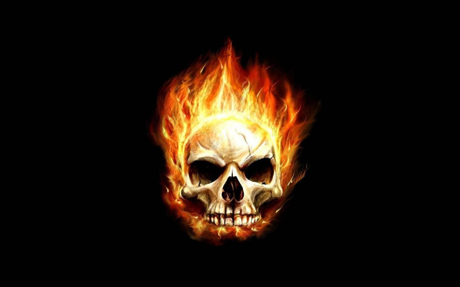 90k – jpg 1080 Skull Fire Fire Skull