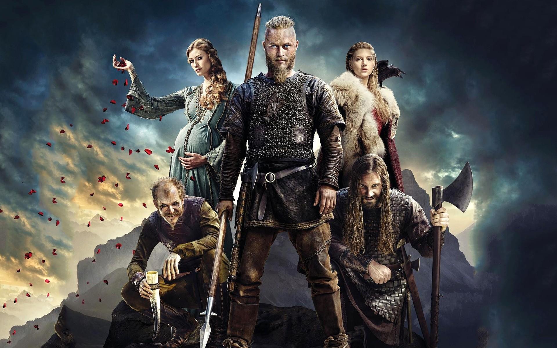 Ragnar Lothbrok Vikings HD Wallpaper Desktop Vikings HD Wallpapers Download  Free.