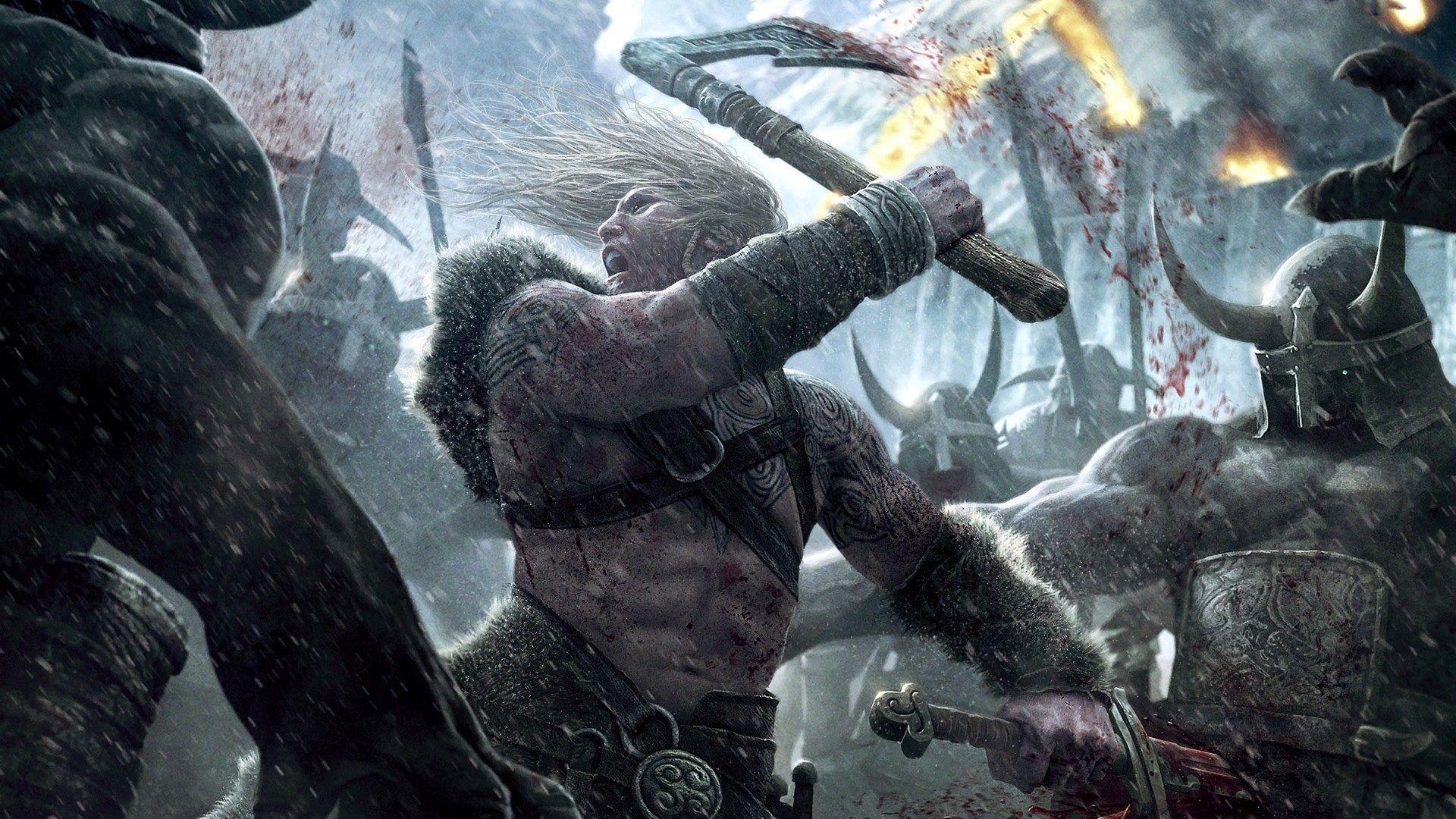 Viking, Battle for Asgard wallpaper – Free Wide HD Wallpaper