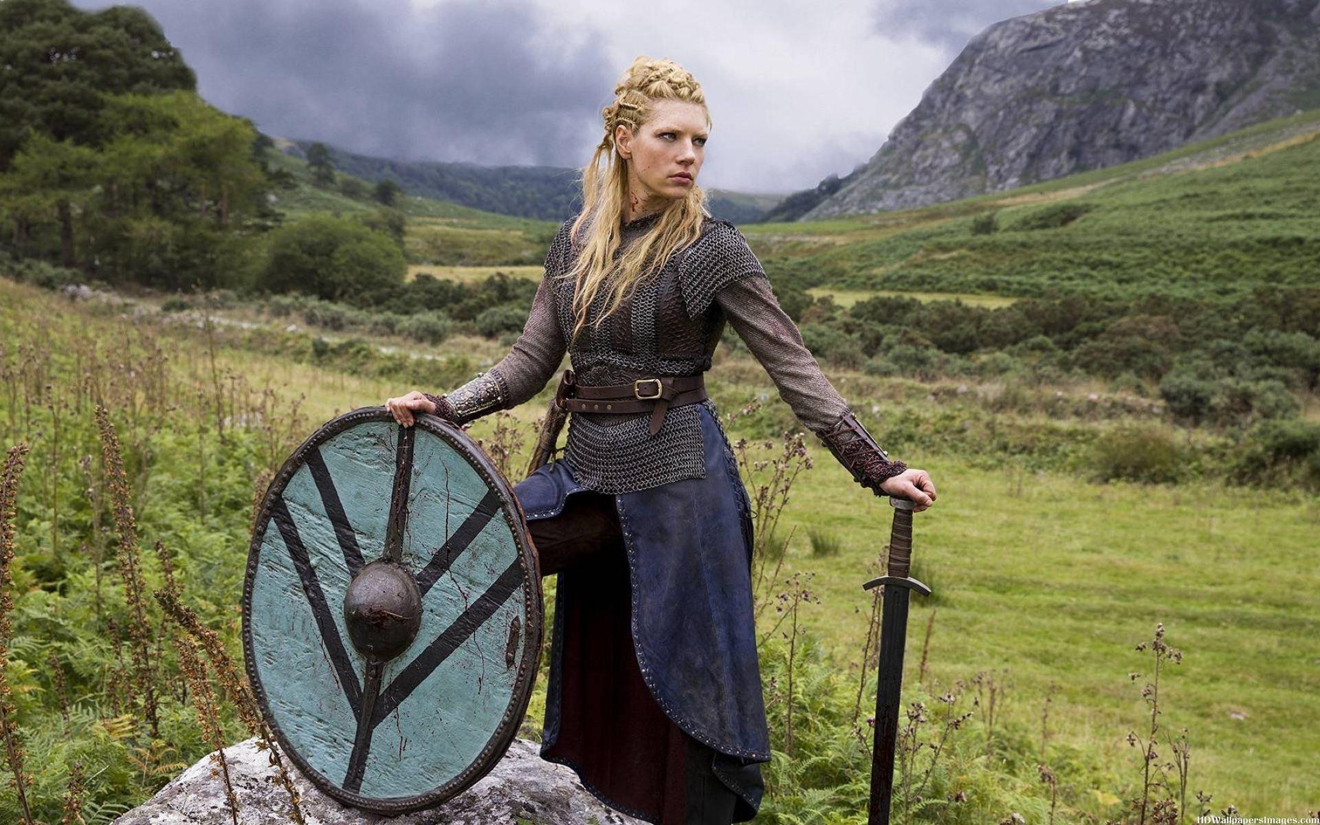 Vikings Katheryn Winnick, Lagertha Images   HD Wallpapers Images