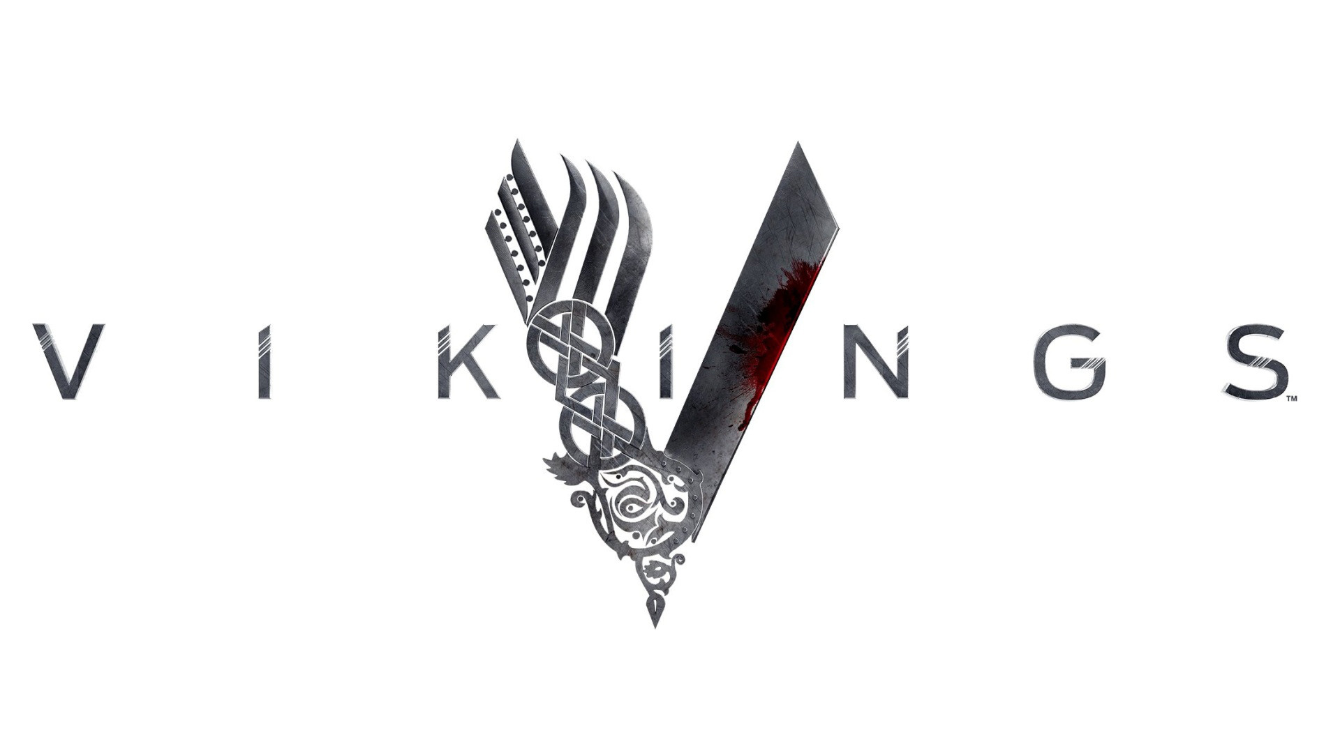 vikings tv show women   Vikings TV Series Logo Wallpaper Wide or HD   TV  Series