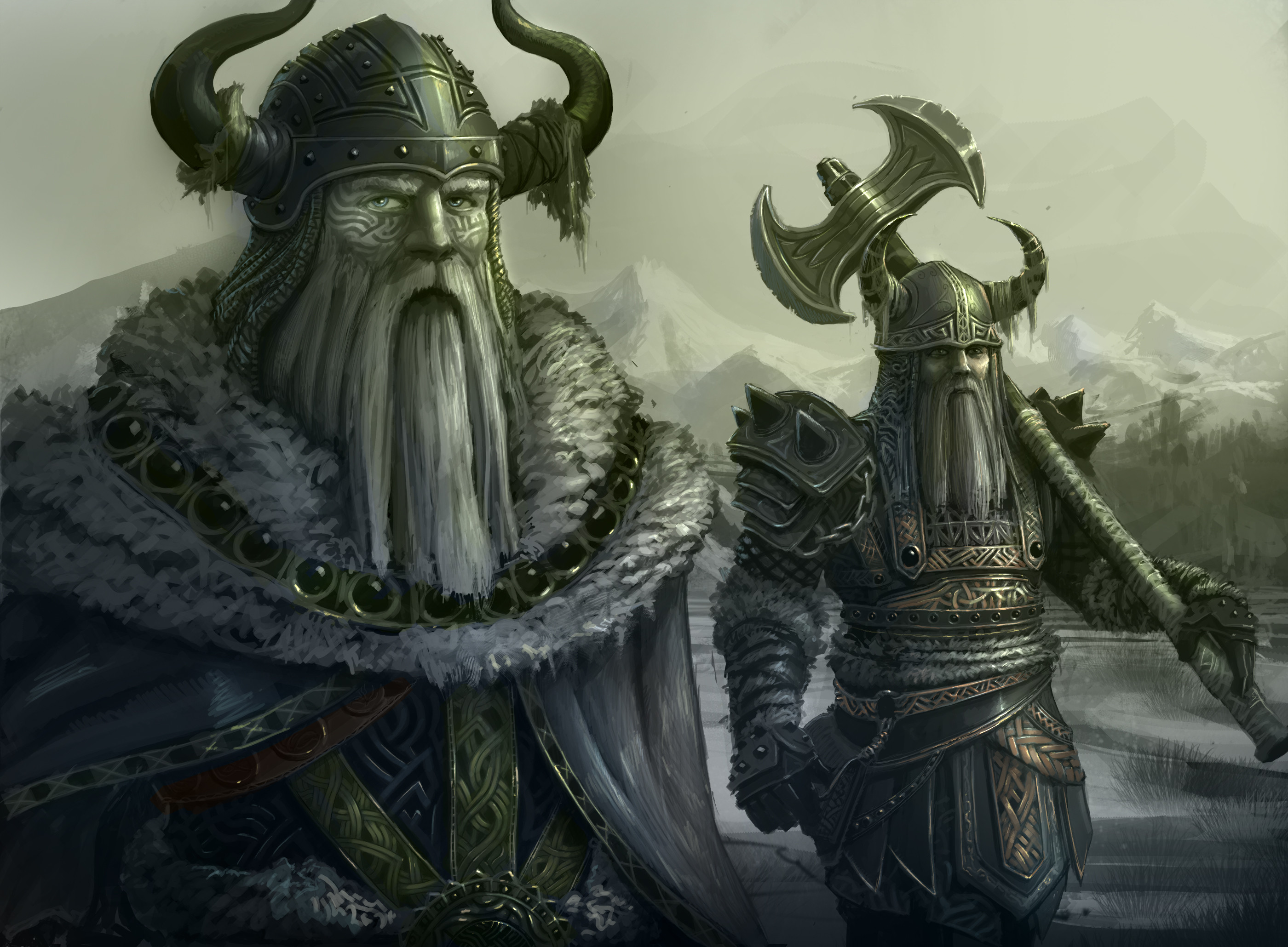 Fantasie – Viking Wallpapers and Backgrounds