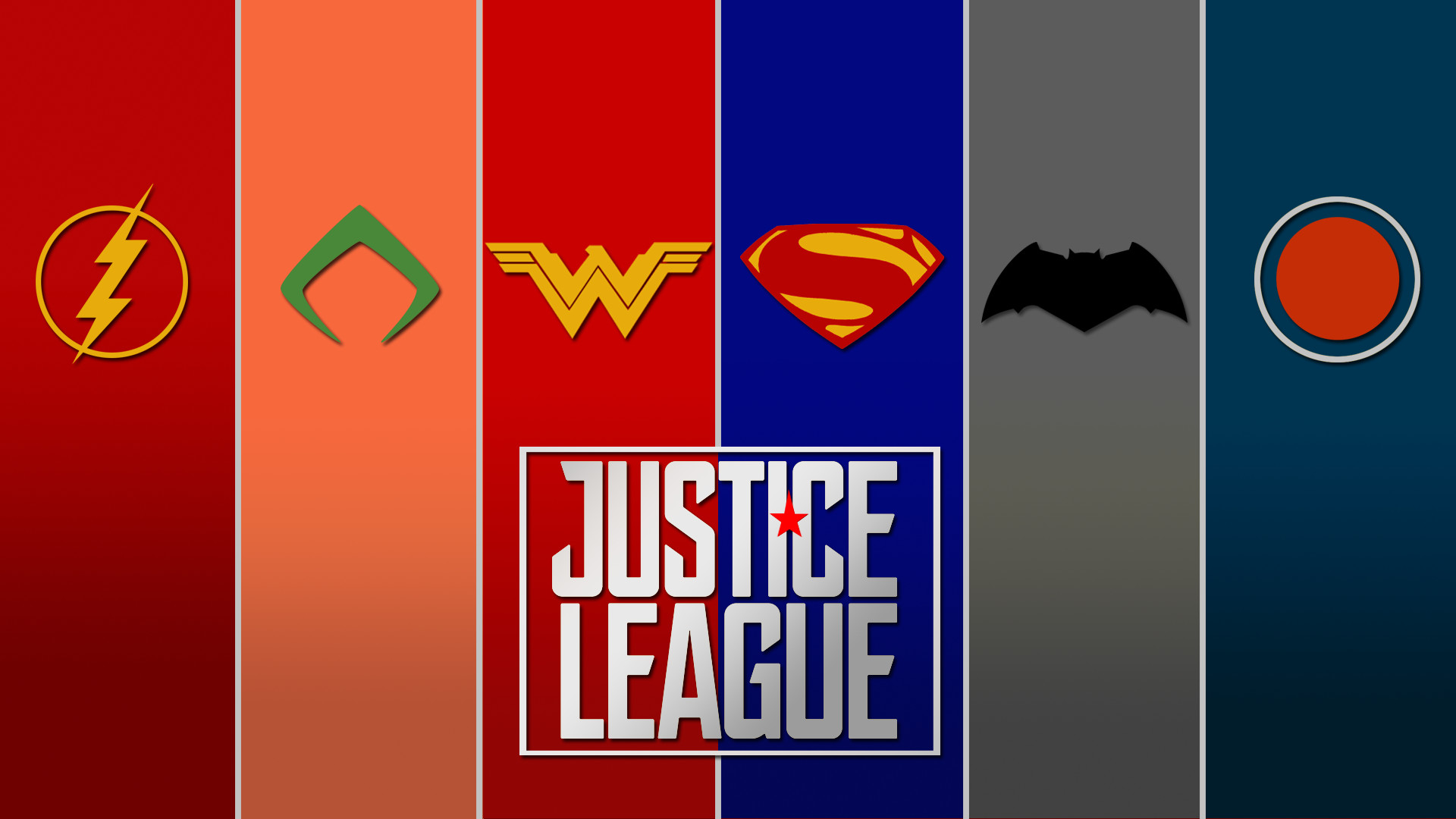 FAN-MADEMade a quick Justice League wallpaper …