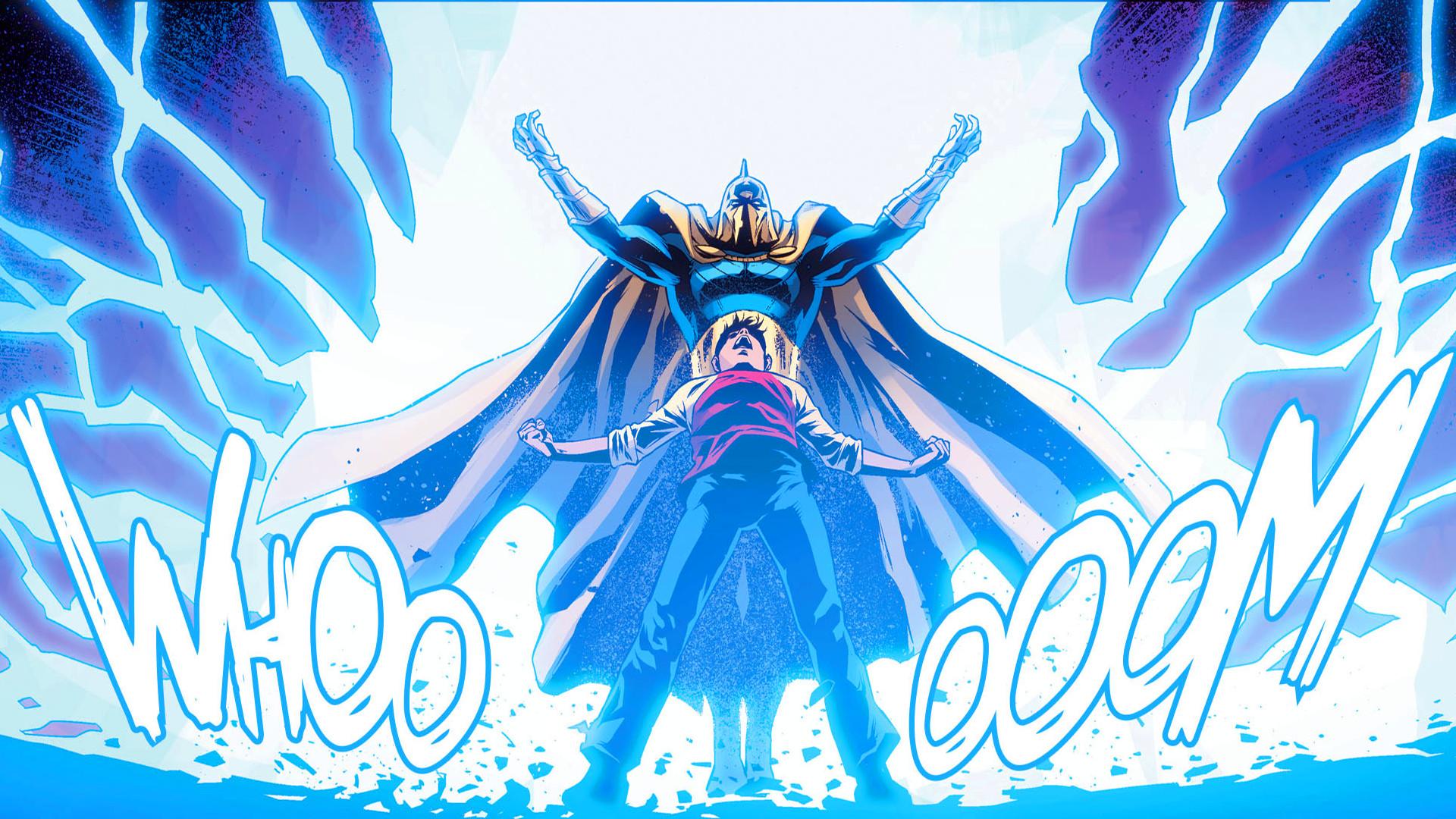 General DC Comics Shazam Doctor Fate Injustice God's among us  comic books superhero comics Billy