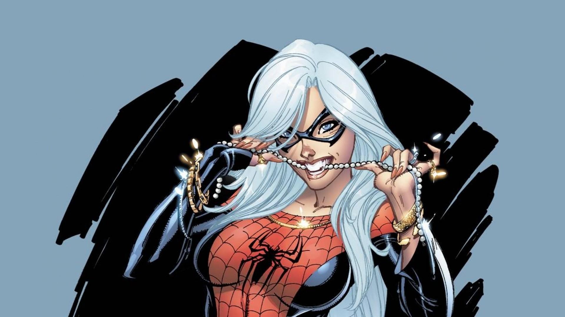 illustration, Marvel Comics, Black Cat (character), Costumes, J. Scott