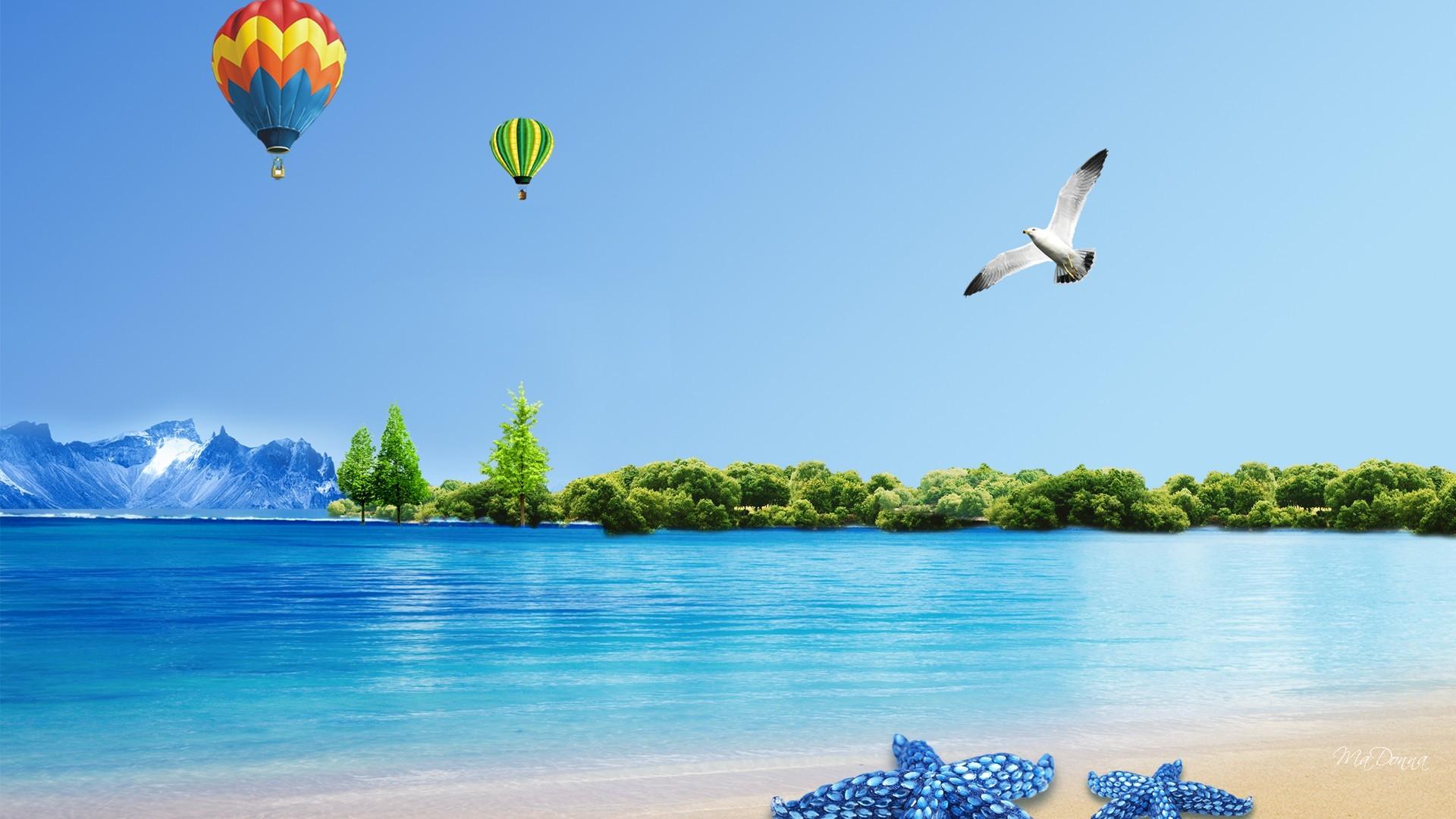 Fun Free Summer Desktop Backgrounds