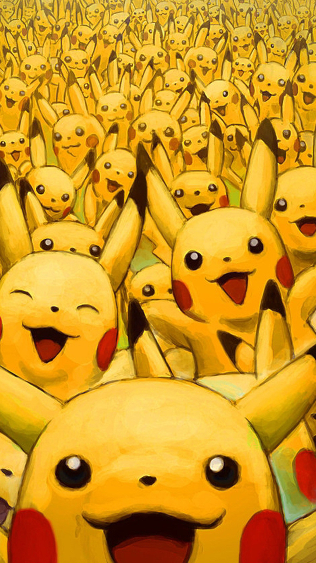 Wild pikachus Wallpapers for Galaxy S5