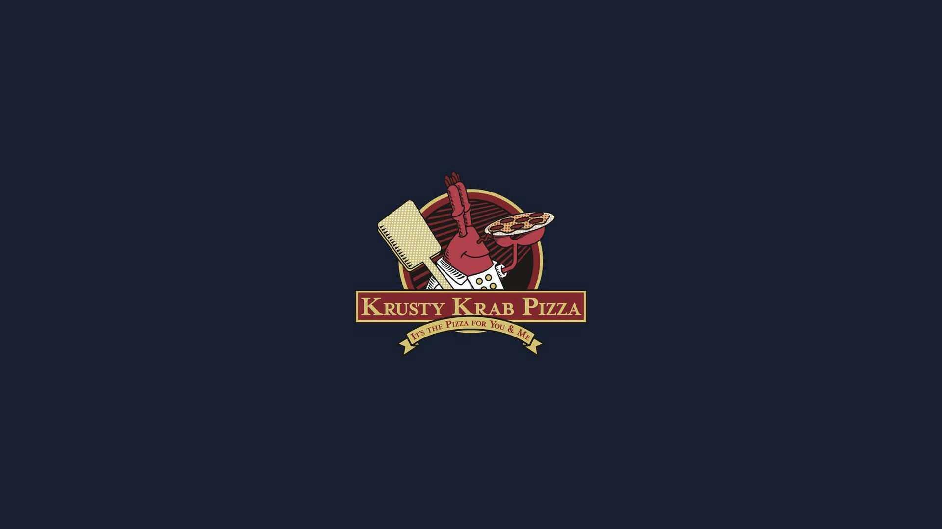 Krusty Krab Pizza Logo
