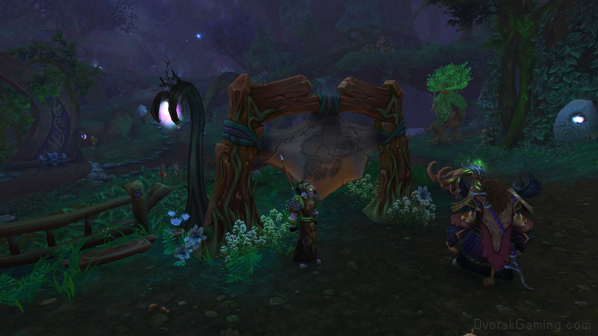 Druid Order Hall scouting map