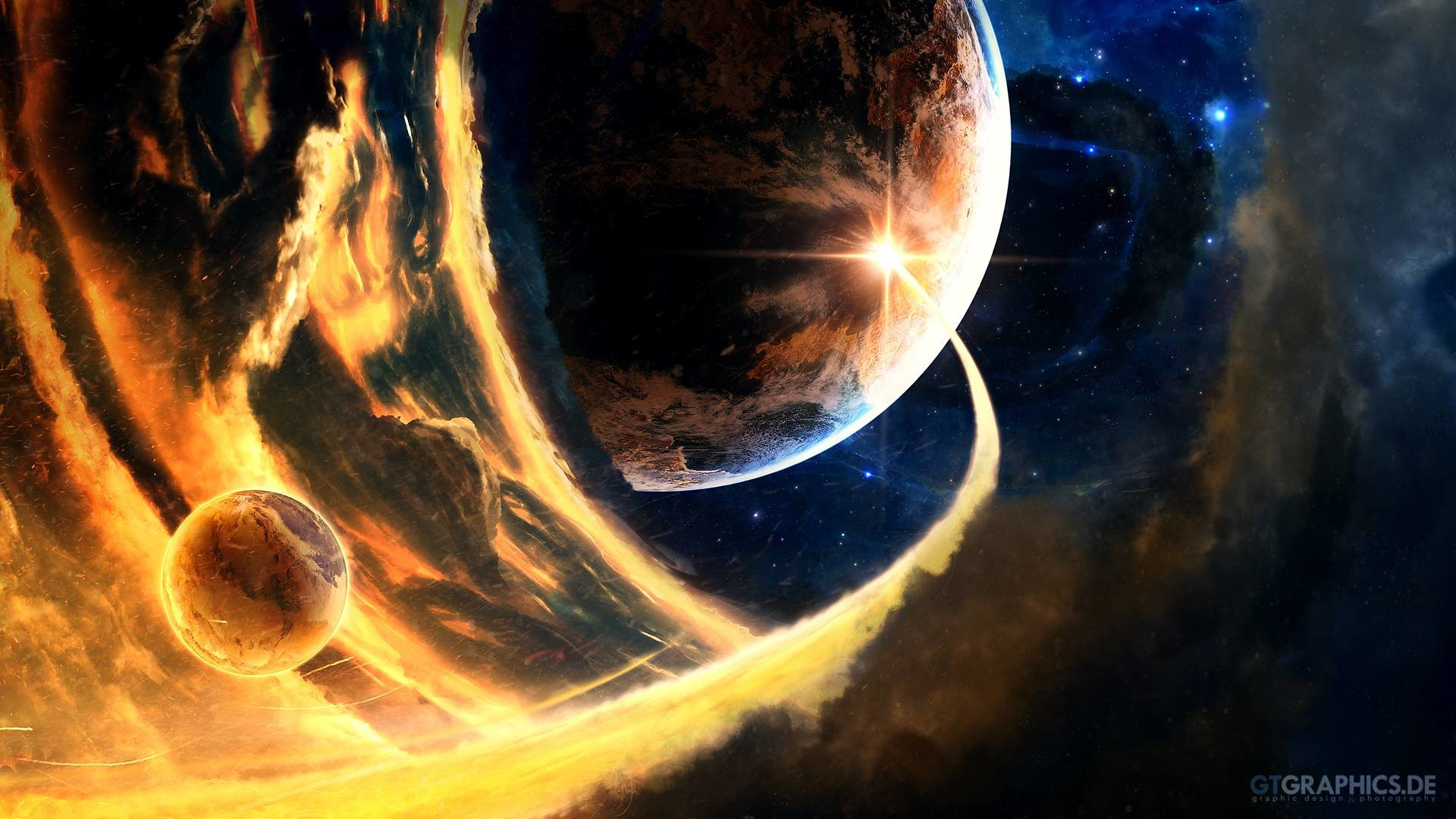 Wallpapers For > Cool Space Wallpapers 1920×1080