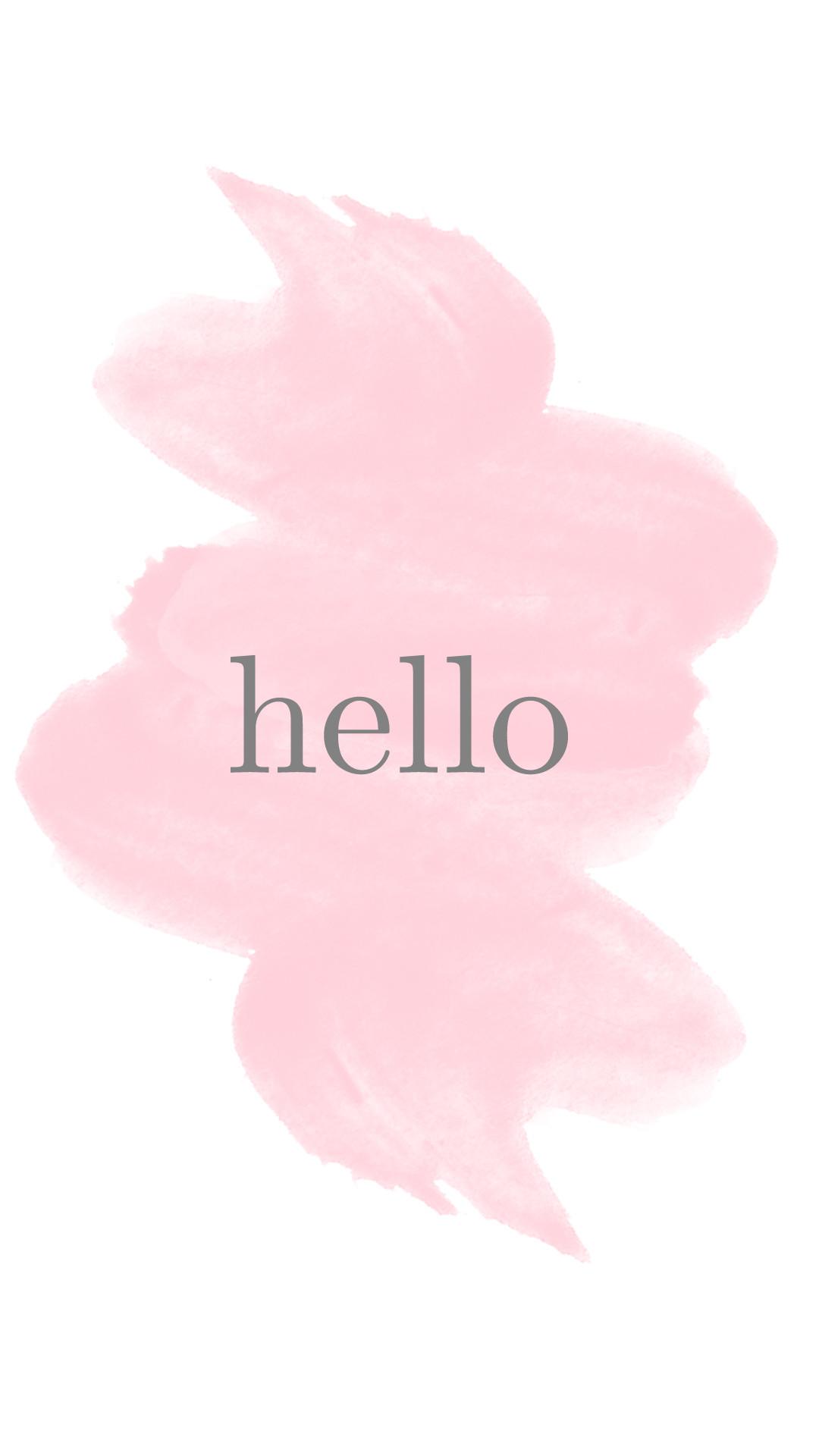 iphone-6-wallpaper-hello-watercolor.jpg 1,080×1,920 pixels