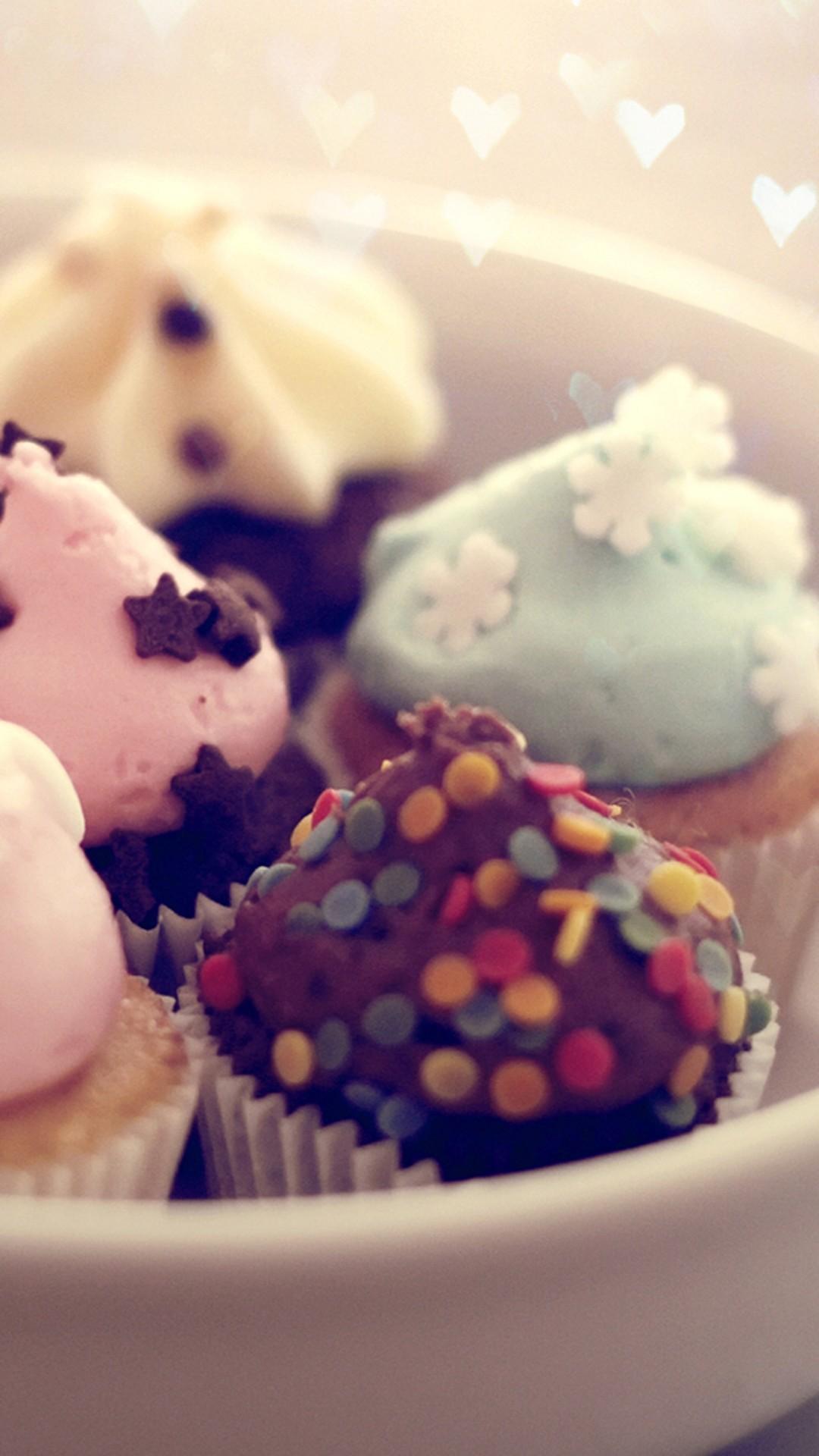 Mint Chocolate Cupcake Desert iPhone 6 Plus HD Wallpaper