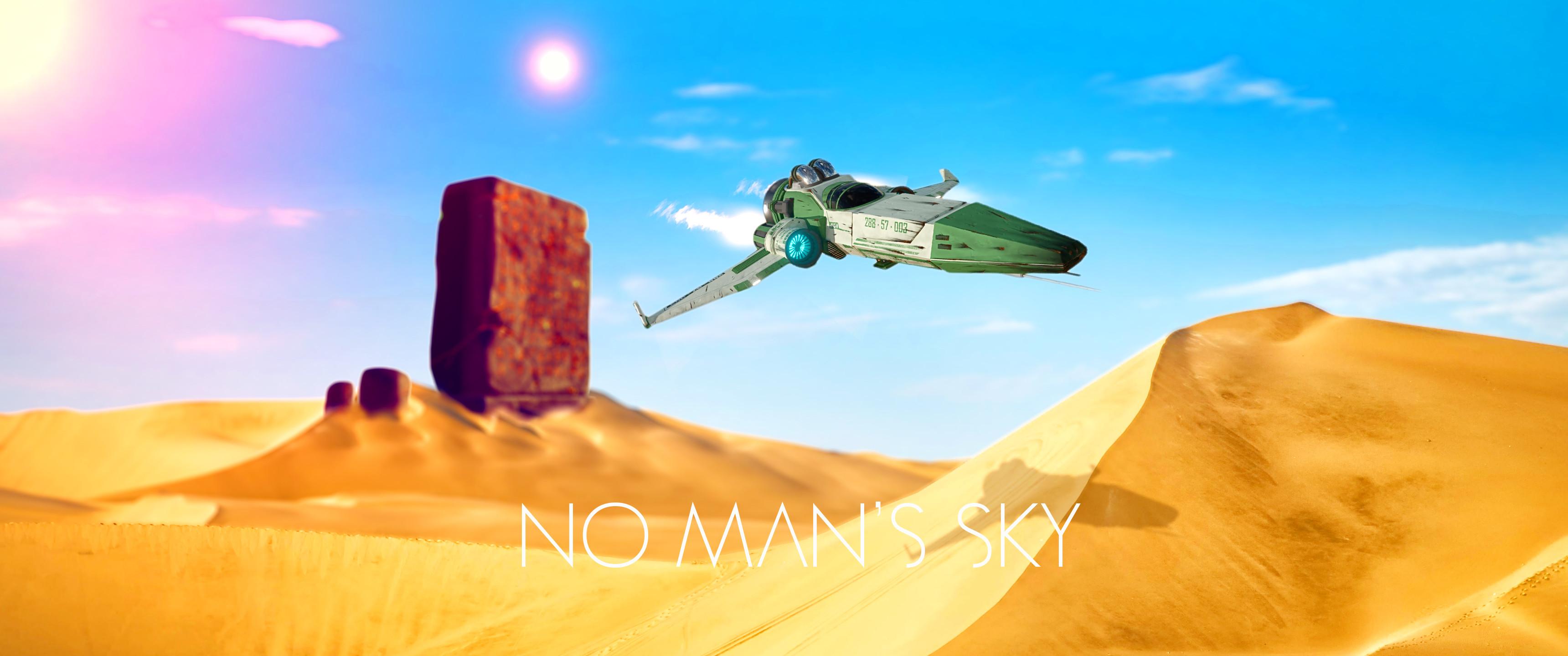 No Man's Sky [3440×1440] Original Composite …