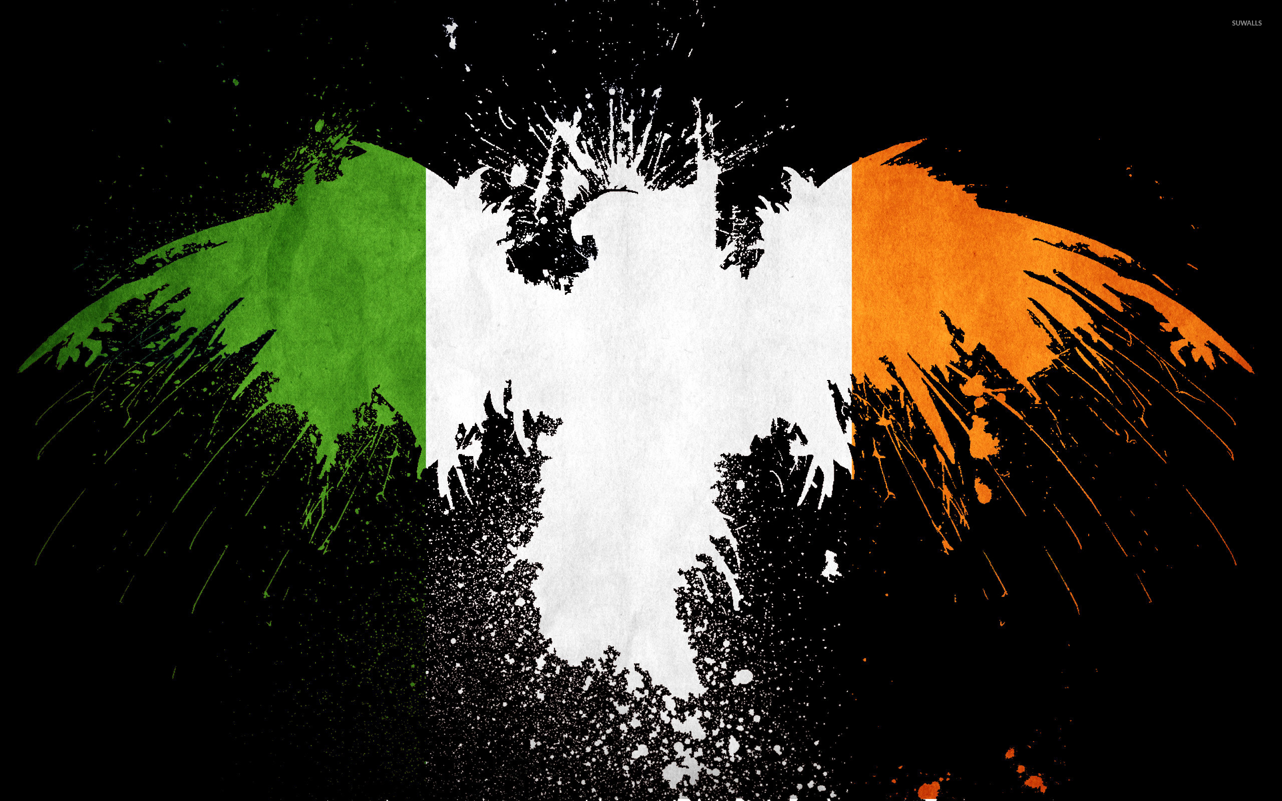 Flag of Ireland wallpaper jpg