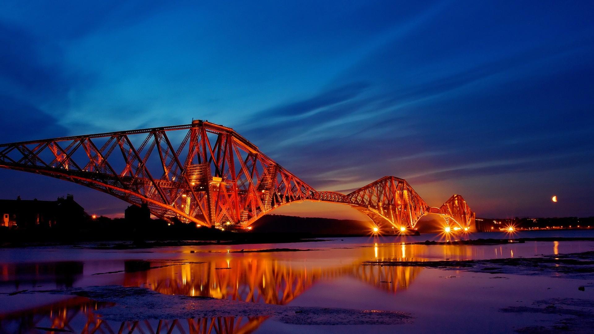 Scotland The Forth Bridge Landscape HD Wide Wallpaper for Widescreen (47  Wallpapers)