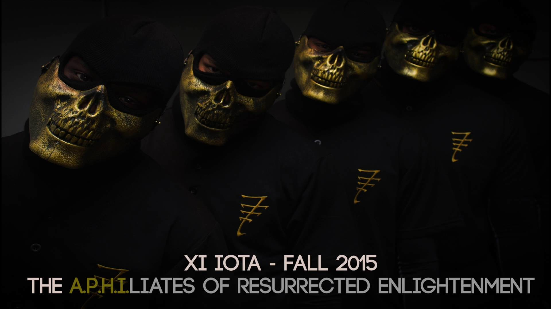 Xi Iota Chapter of Alpha Phi Alpha – Fall 2015 Probate