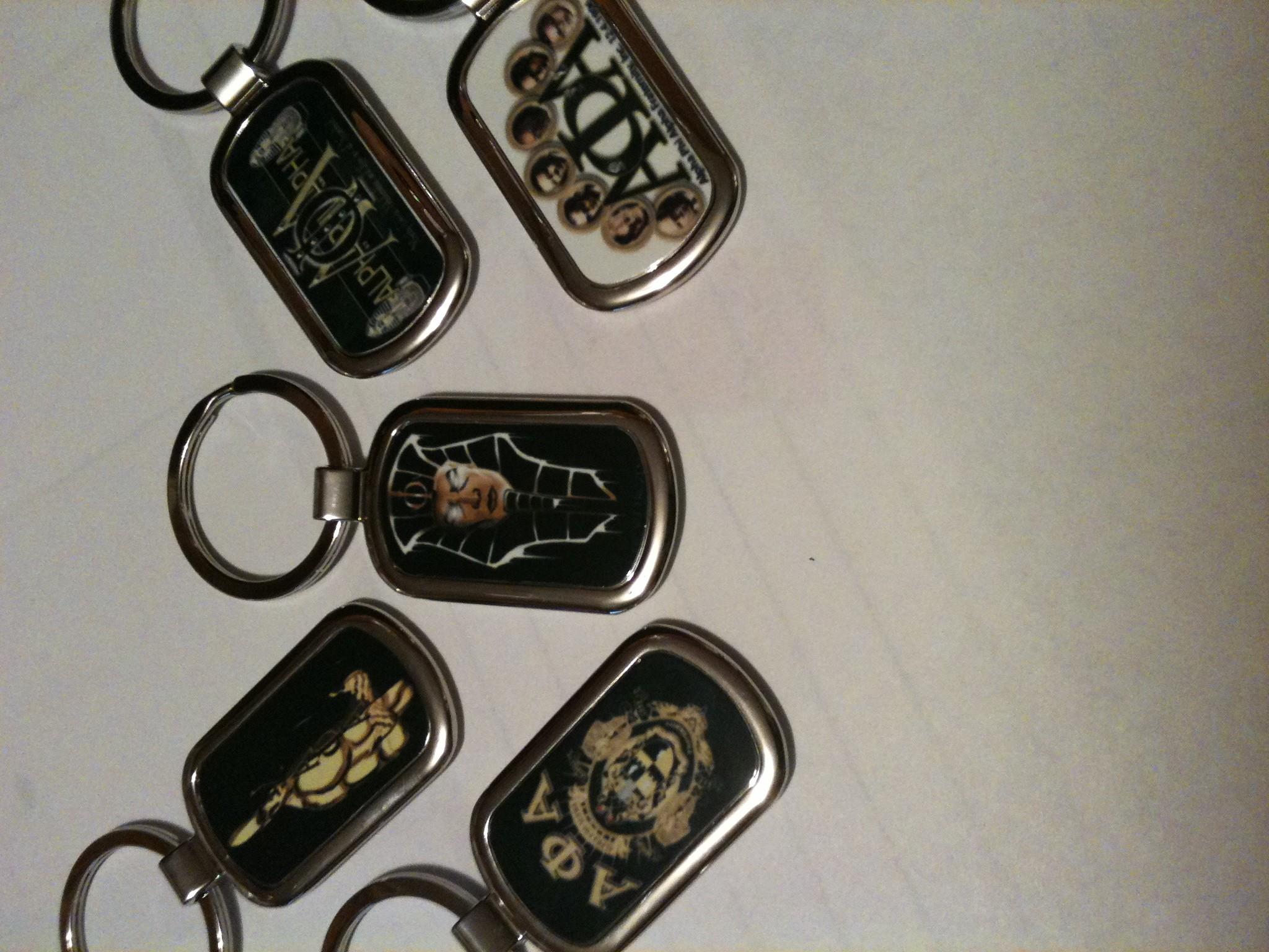 Alpha Phi Alpha Keychains