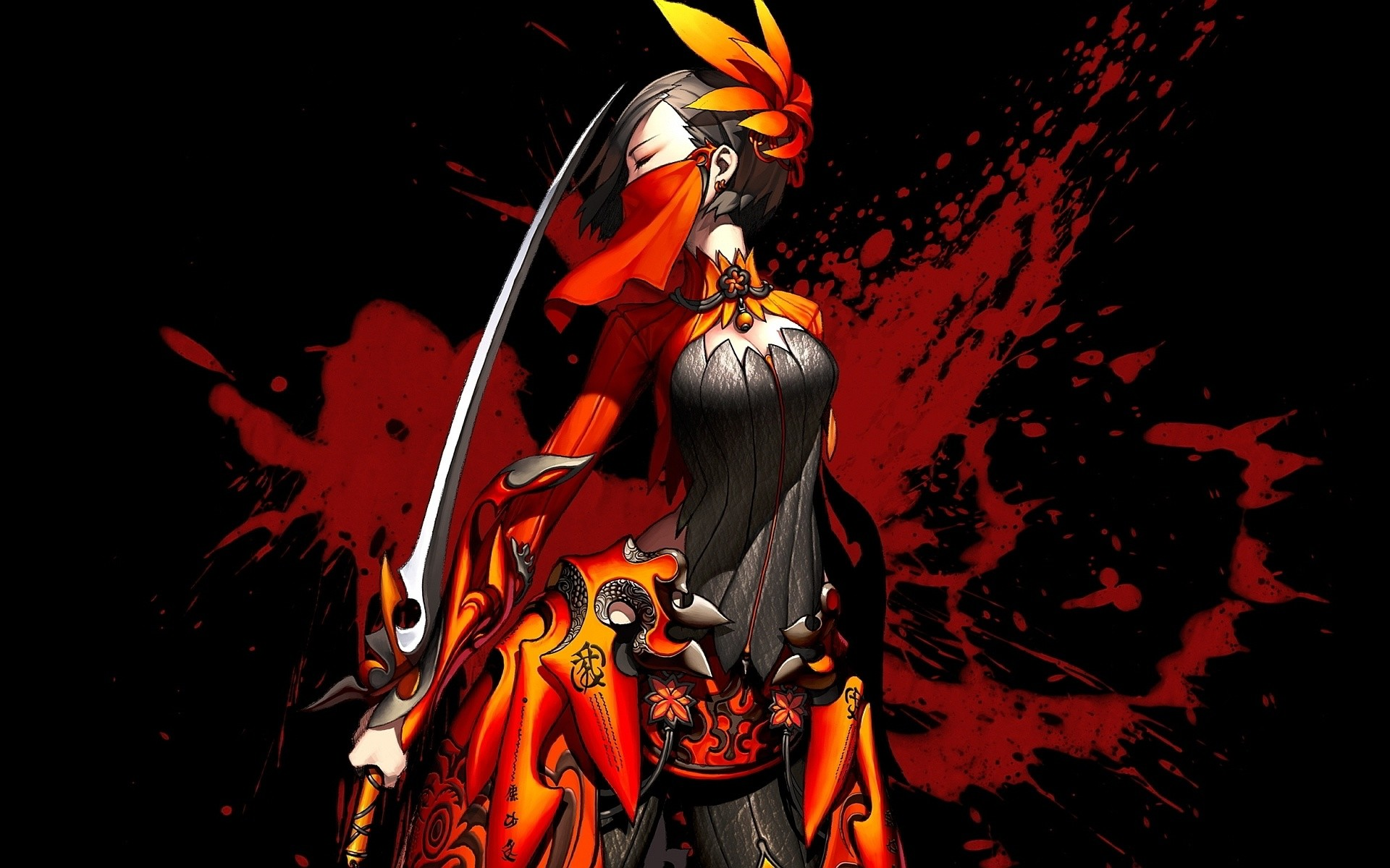 Blade and Soul Woman with Katana Wallpapers HD / Desktop and Mobile  Backgrounds
