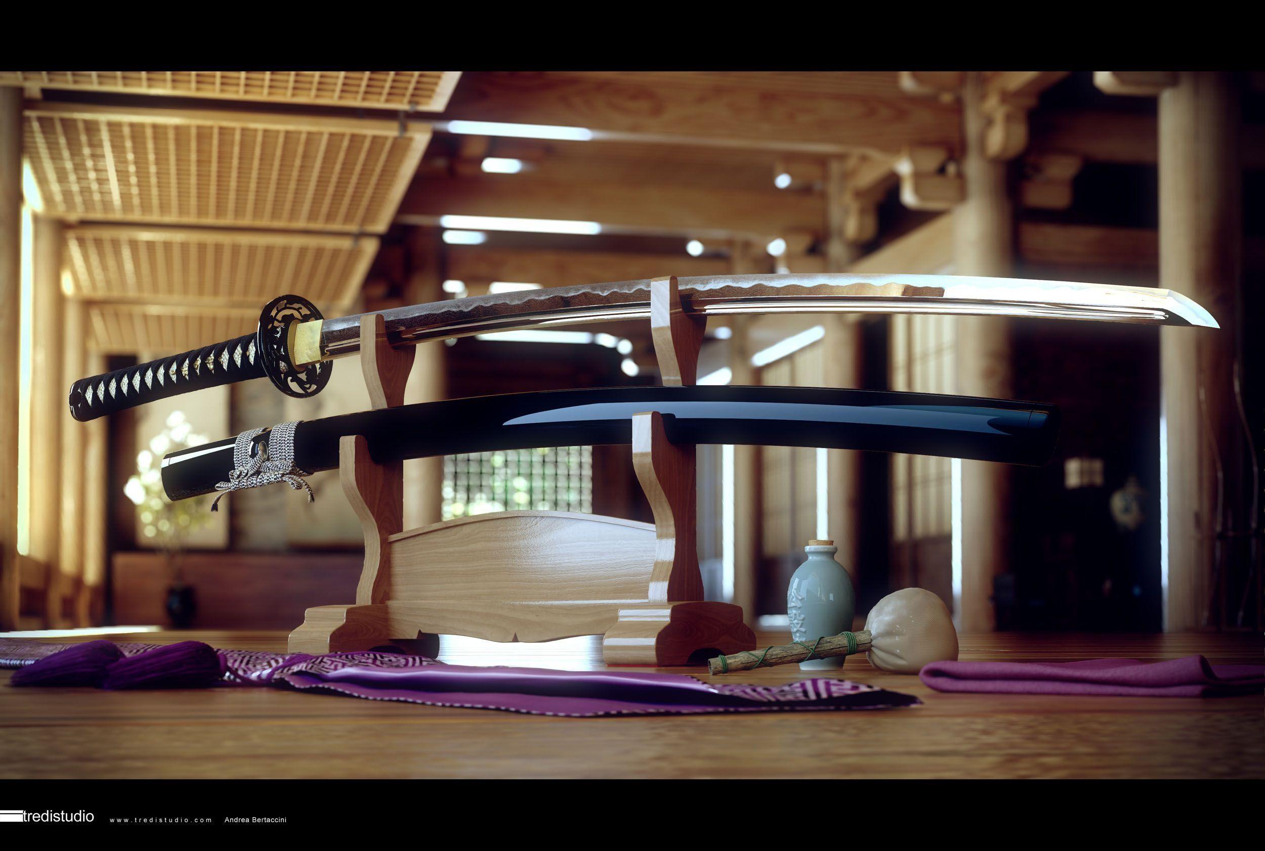katana-Wallpaper-Japan-Sword – The Samurai Swing