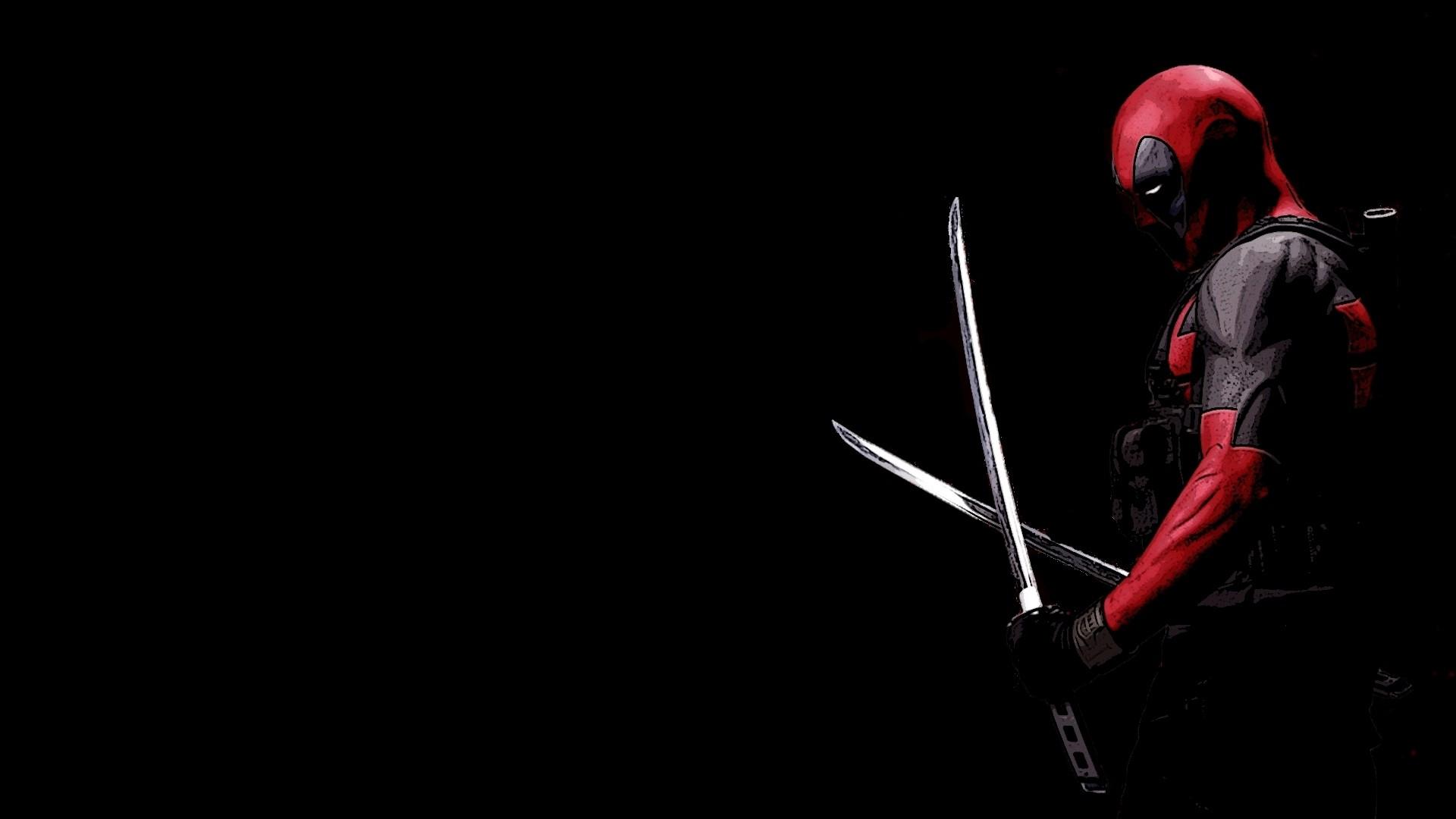 Deadpool Katana Black Background · Deadpool Shooting Soldiers. Deadpool  With Katana Wallpaper HD