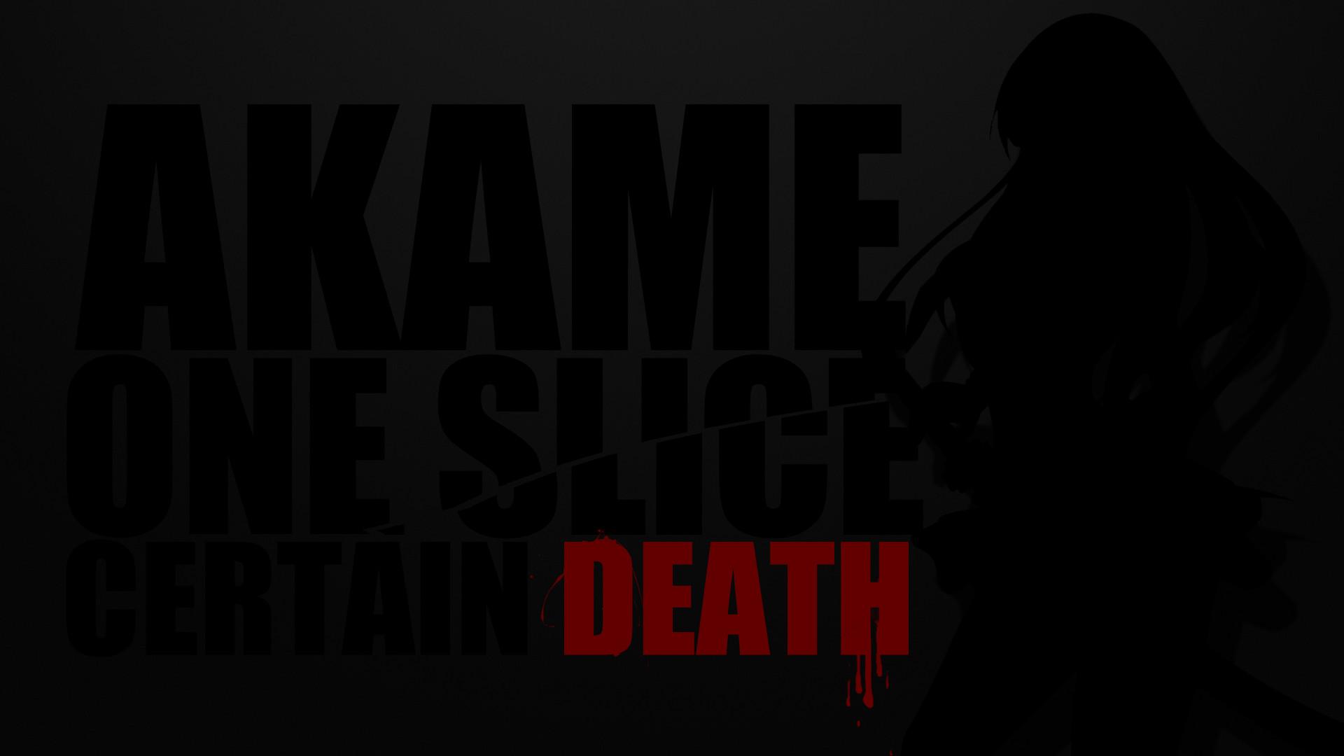 Anime – Akame ga Kill! Akame (Akame Ga Kill!) Shadow Katana Wallpaper
