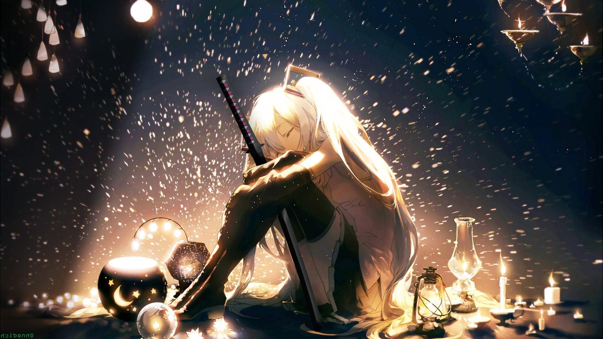 katana, Anime Girls, Vocaloid, Hatsune Miku Wallpapers HD / Desktop and  Mobile Backgrounds