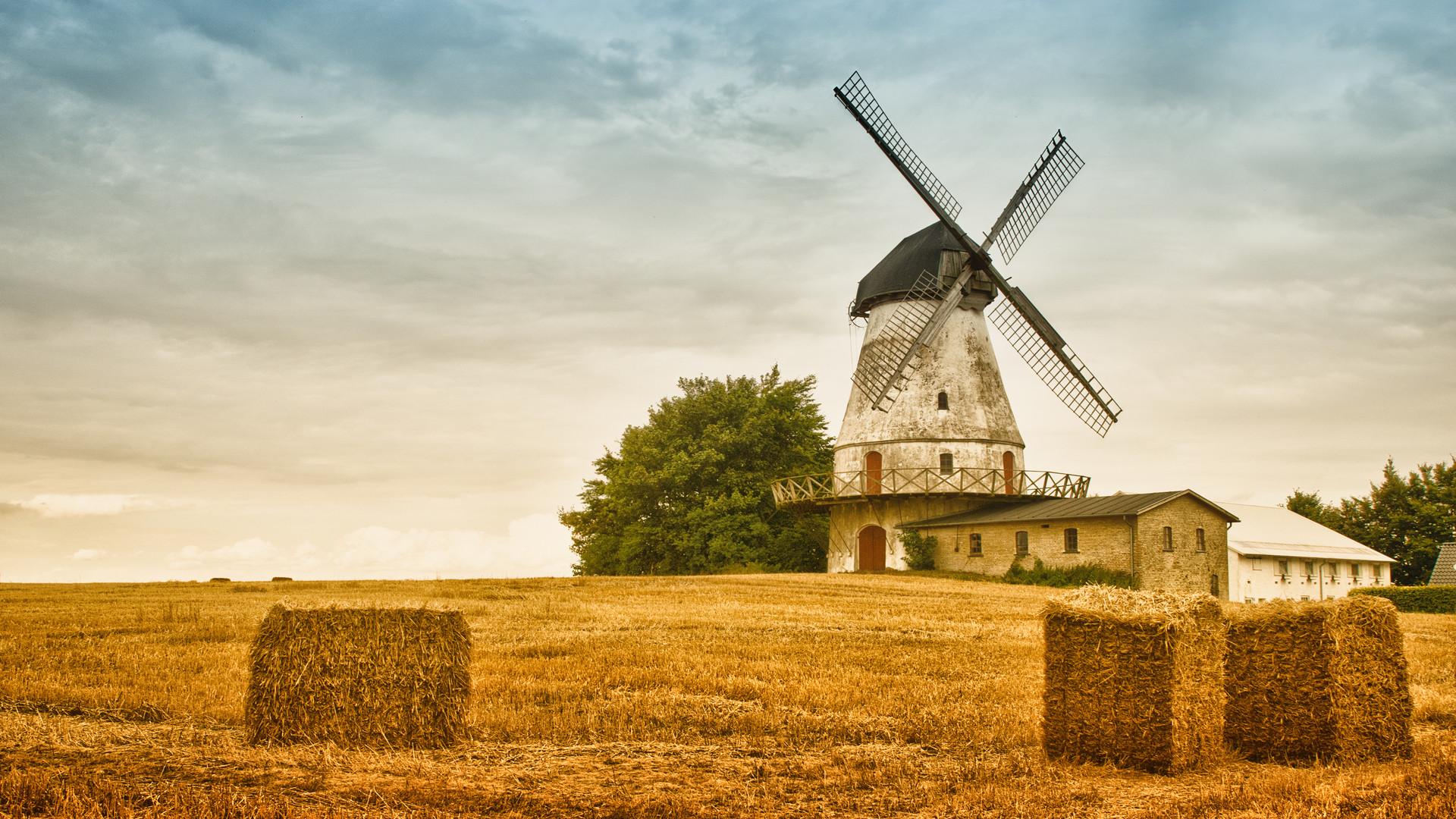 Dutch Windmill Wallpaper Pinit Gallery 1920x1080px
