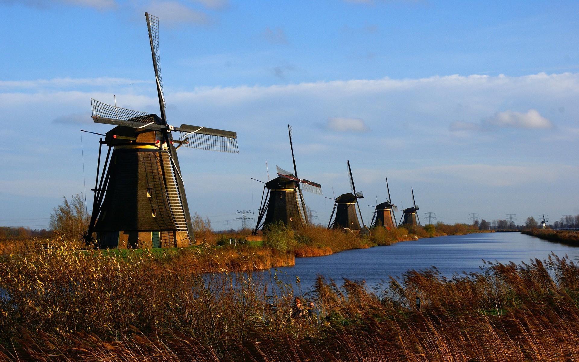 … Dutch Windmill Wallpaper – WallpaperSafari