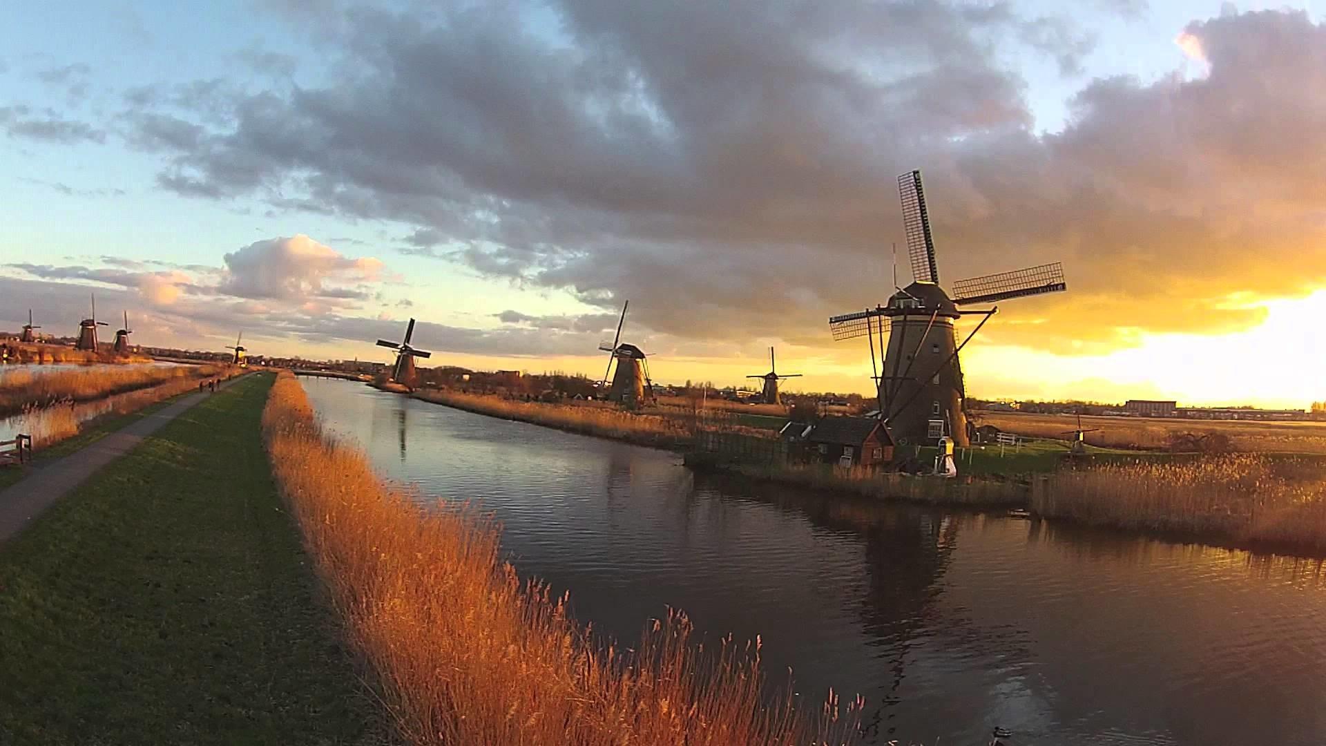 Kinderdijk Dutch windmills