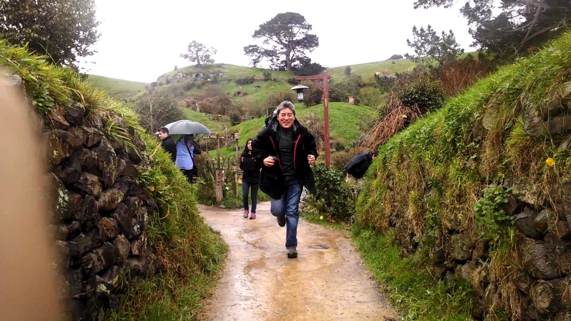 """""""I'm going on an adventure"""" at Hobbiton – YouTube"""