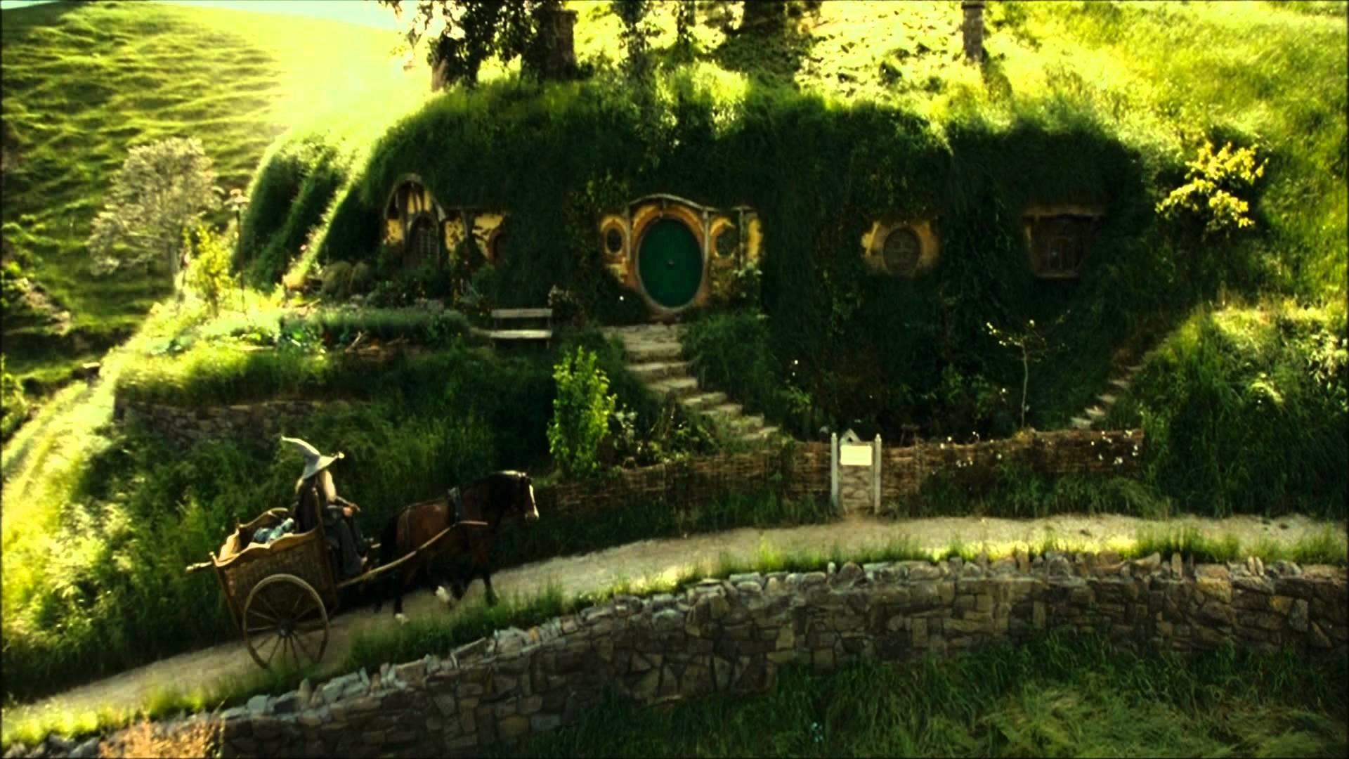 The Hobbit The Shire Wallpaper – WallpaperSafari