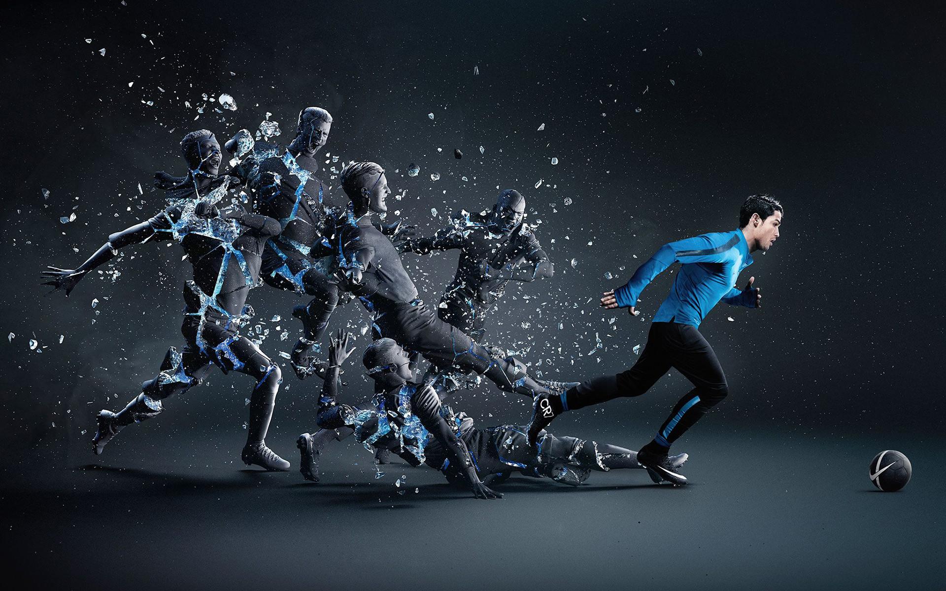 Cristiano Ronaldo CR7 3D Desktop HD Wallpaper