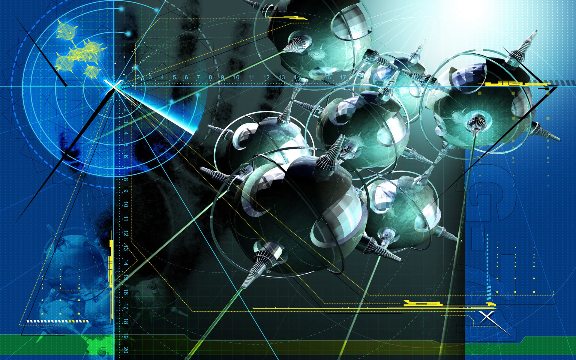 3D Creative Sci-Fi Widescreen Wallpaper Wallpapers – HD Wallpapers .