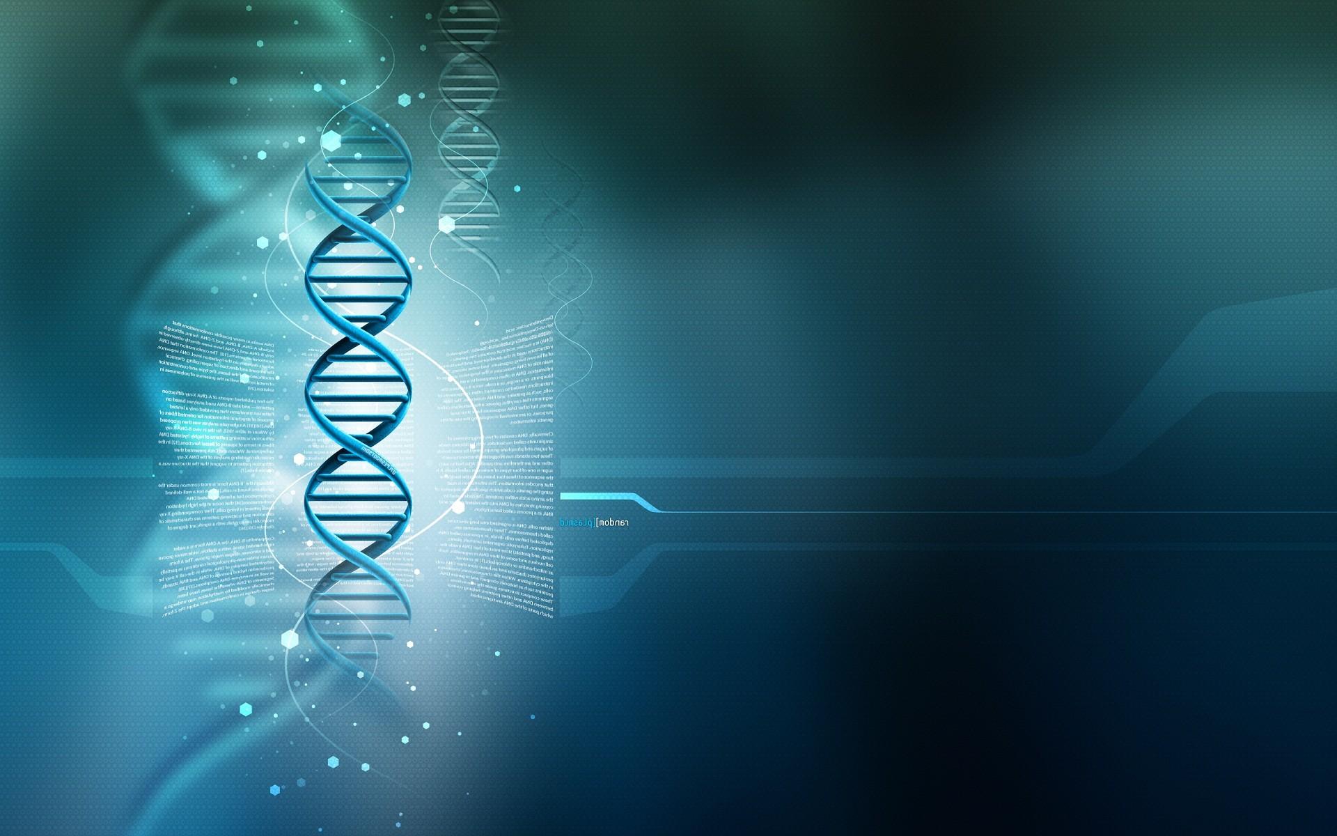 DNA 3D HD Wallpaper Widescreen Background For Desktop