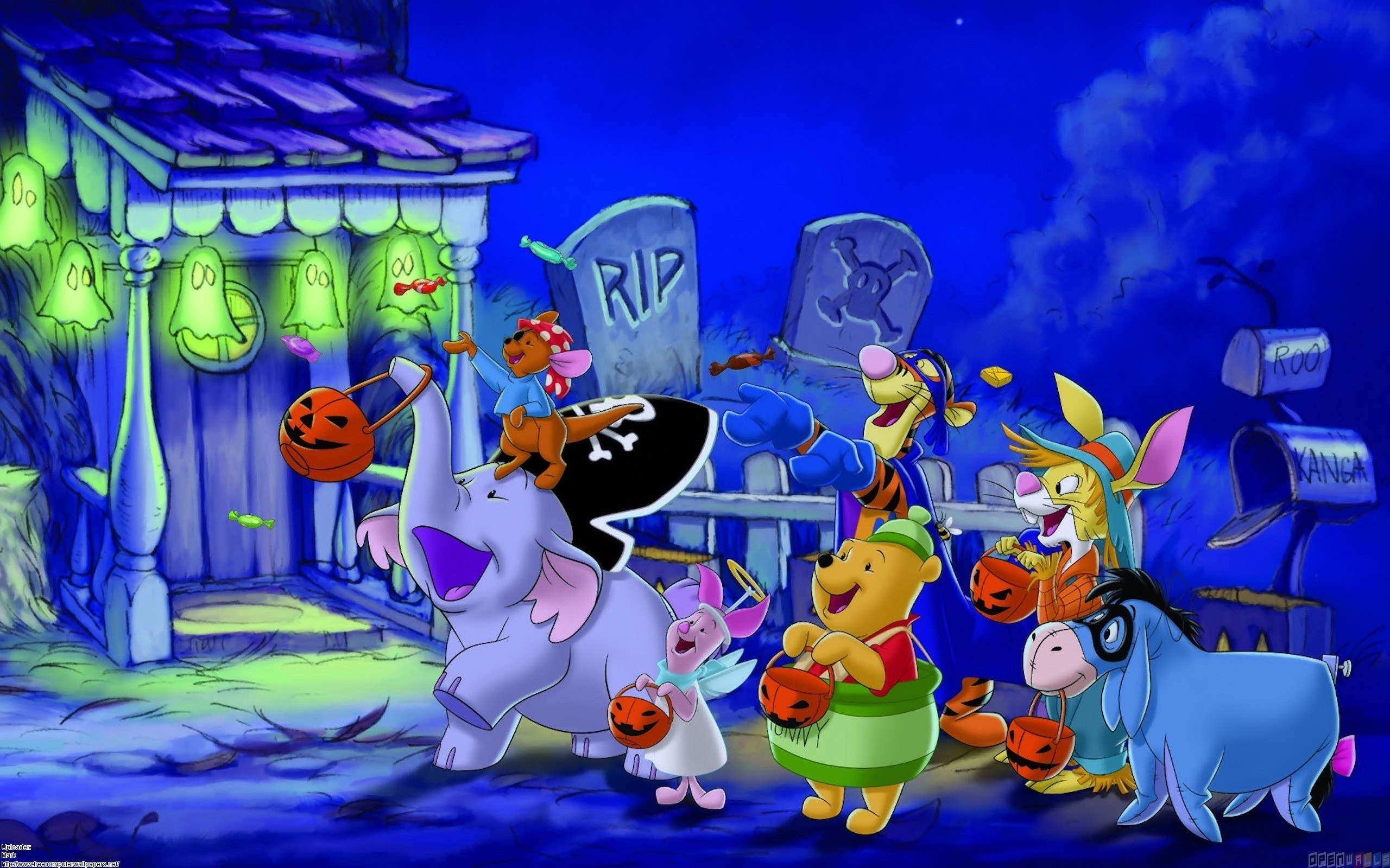 Disney halloween, trick or treating for candy wallpaper #16419 – Open .