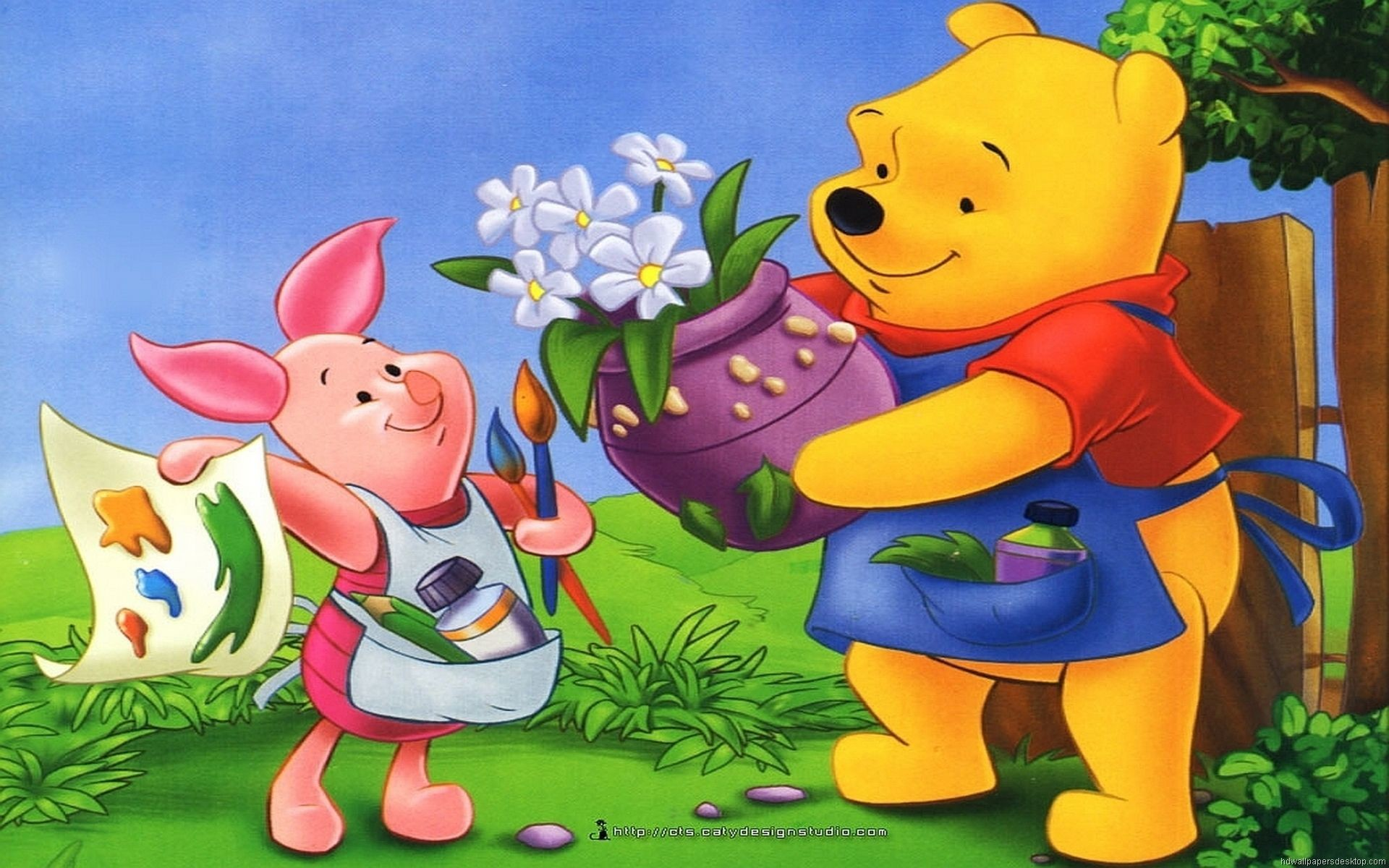 Winnie The Pooh And Piglet wallpaper 188399