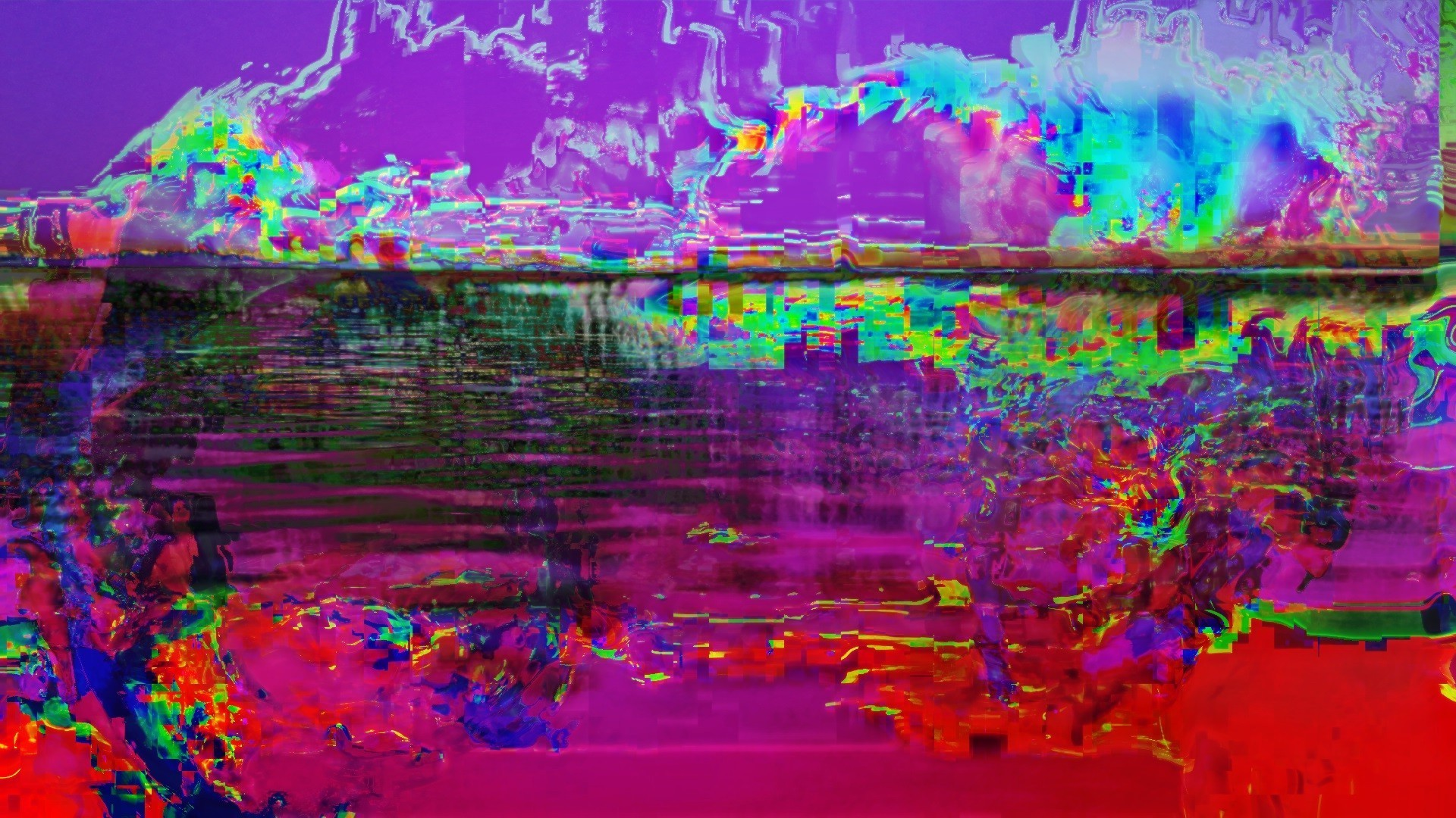 glitch Art, LSD, Abstract Wallpapers HD / Desktop and Mobile Backgrounds