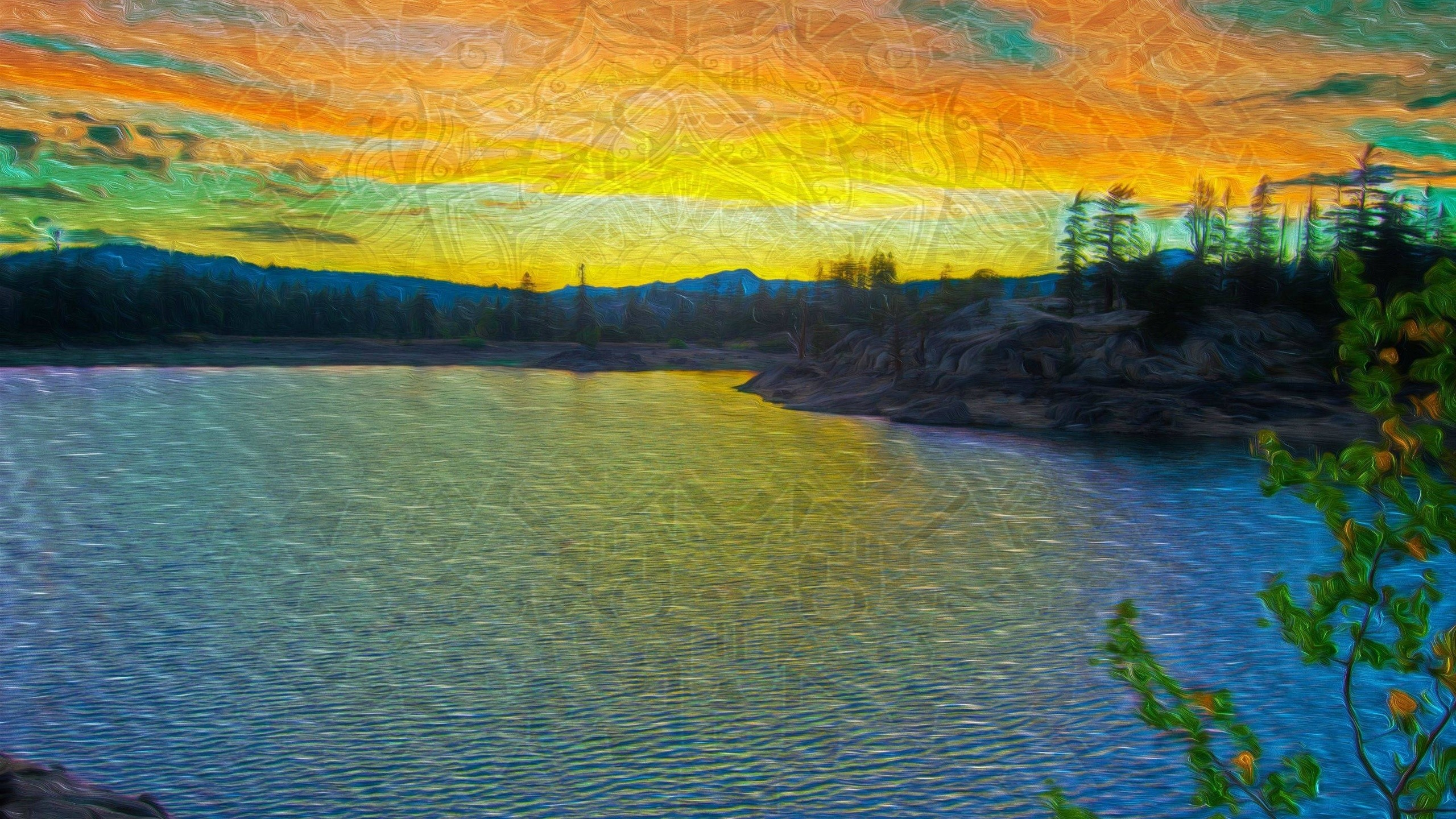 Artwork, Arts, Lsd, Summer, Landscape, Lsd Last Summer