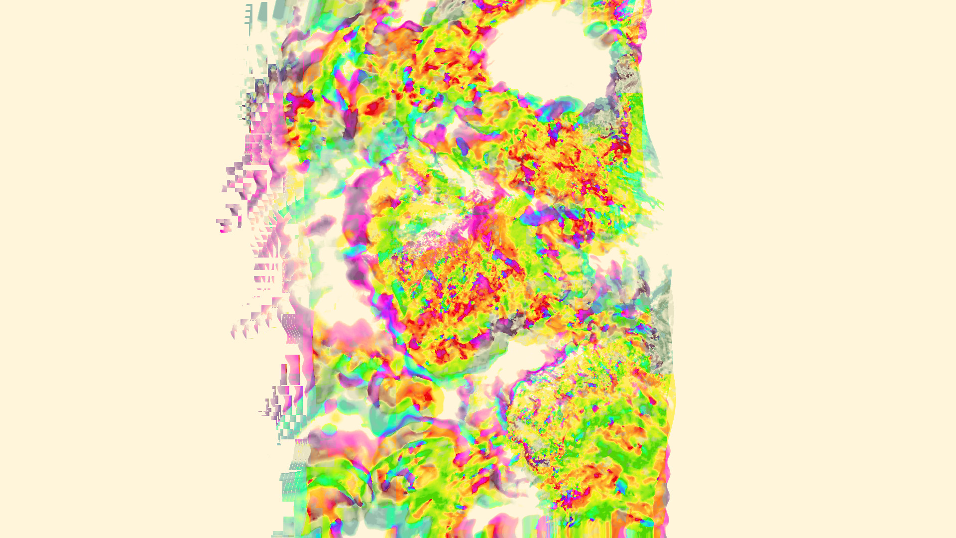 glitch Art, Abstract, LSD Wallpaper HD