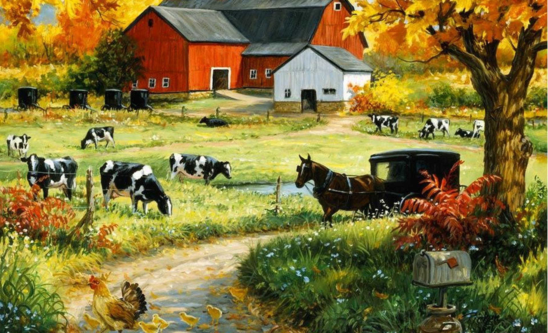HD Mcdonald Had A Farm Wallpaper