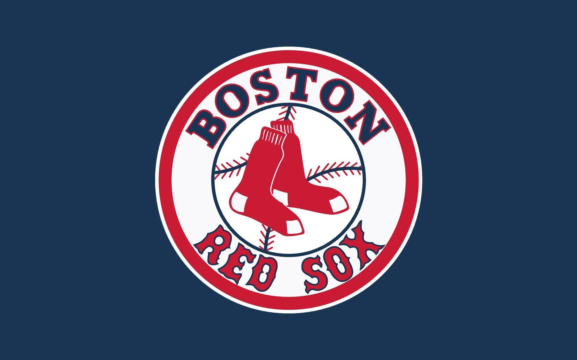 Boston Red Sox Logo Wallpaper HD.