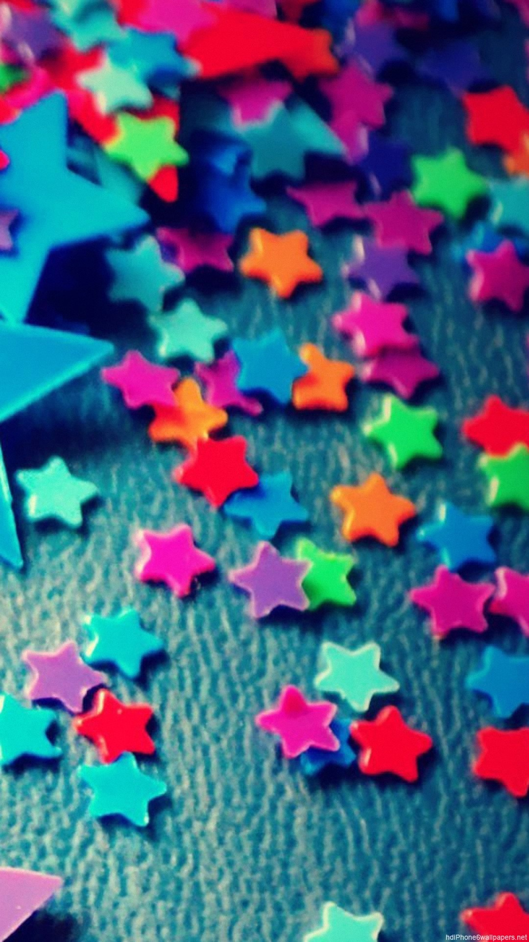 colorful star iPhone 6 wallpapers HD – 6 Plus backgrounds