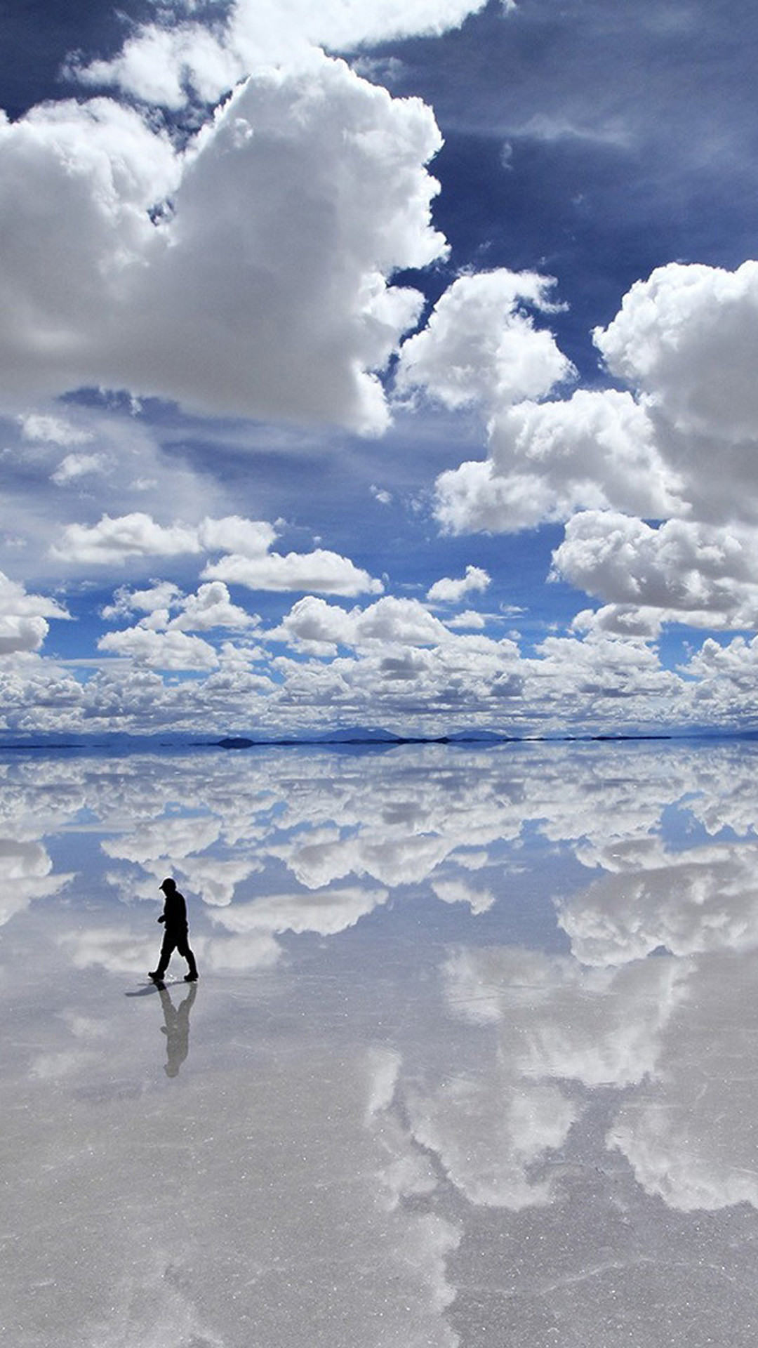 Wandering Under Pure Clear Cloudy Skyscape. Find this Pin and more on iPhone  6 Plus Wallpapers …